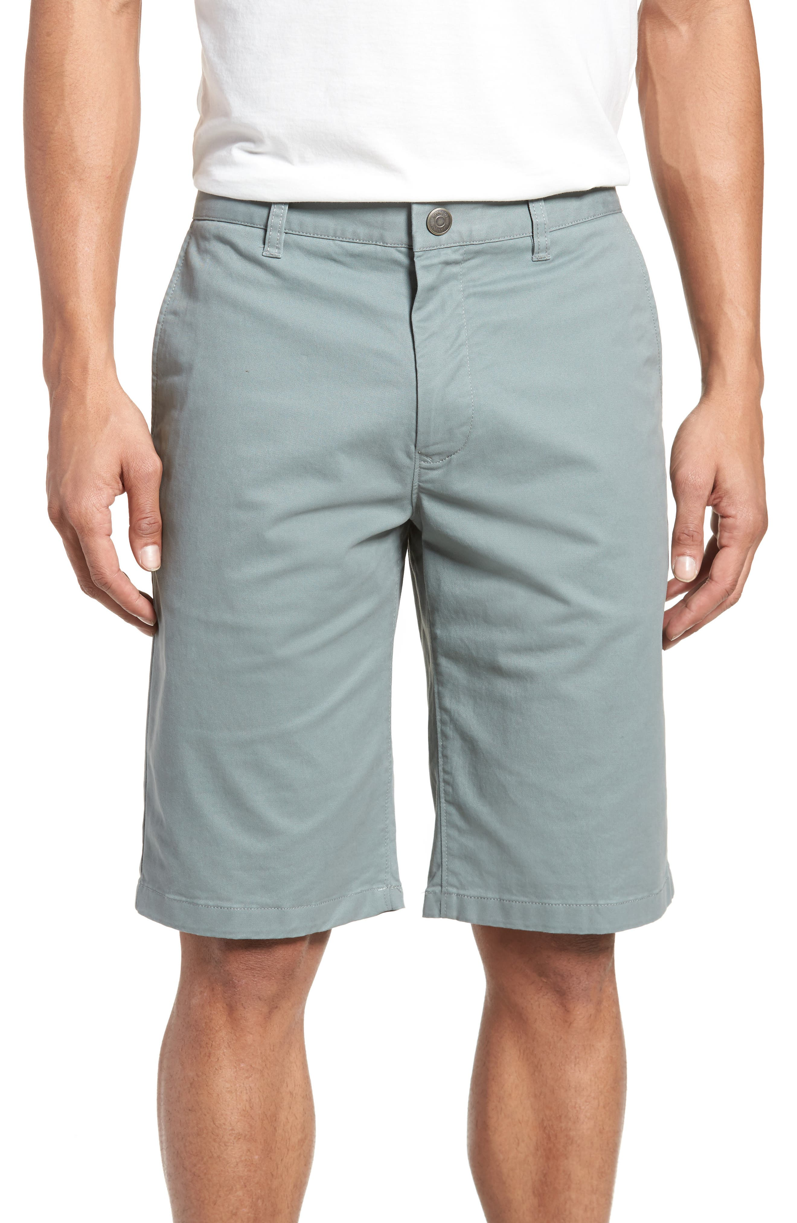 Stretch Washed Chino 11-Inch Shorts,                             Main thumbnail 3, color,