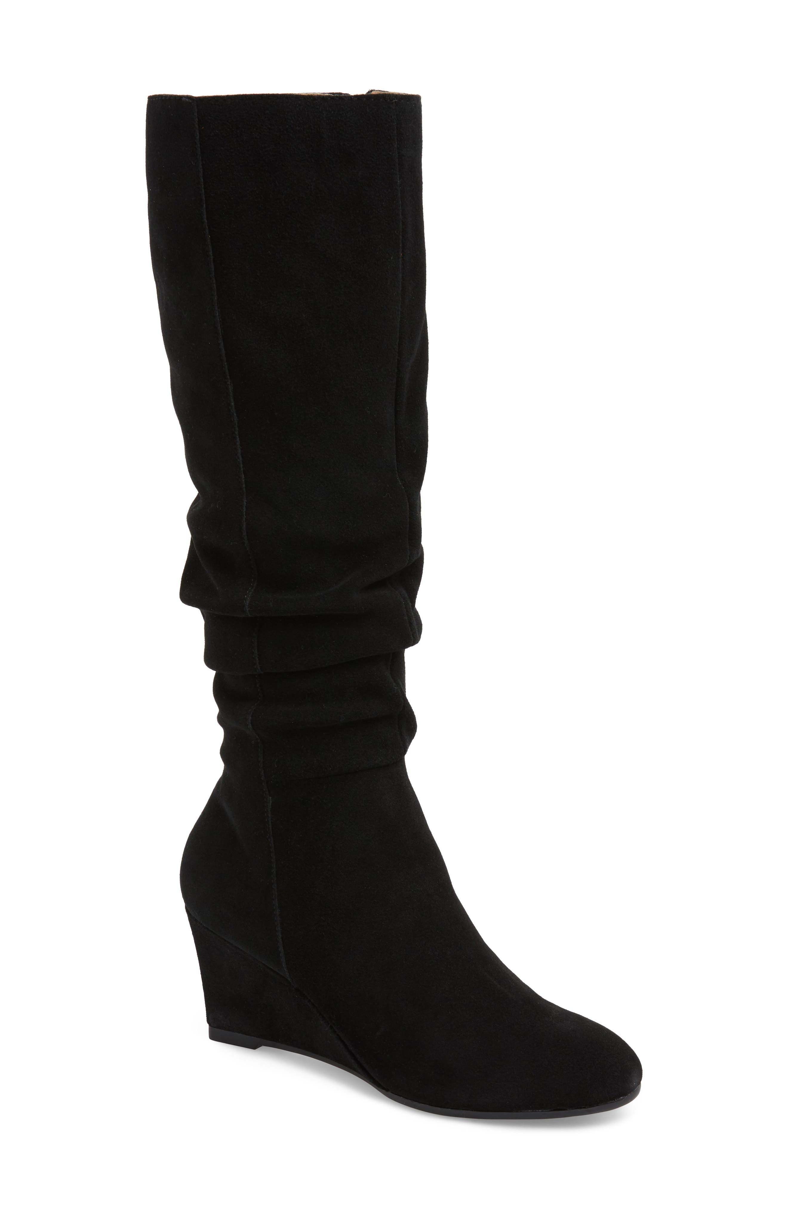 Bettye Muller Concepts Carole Knee High Boot- Black
