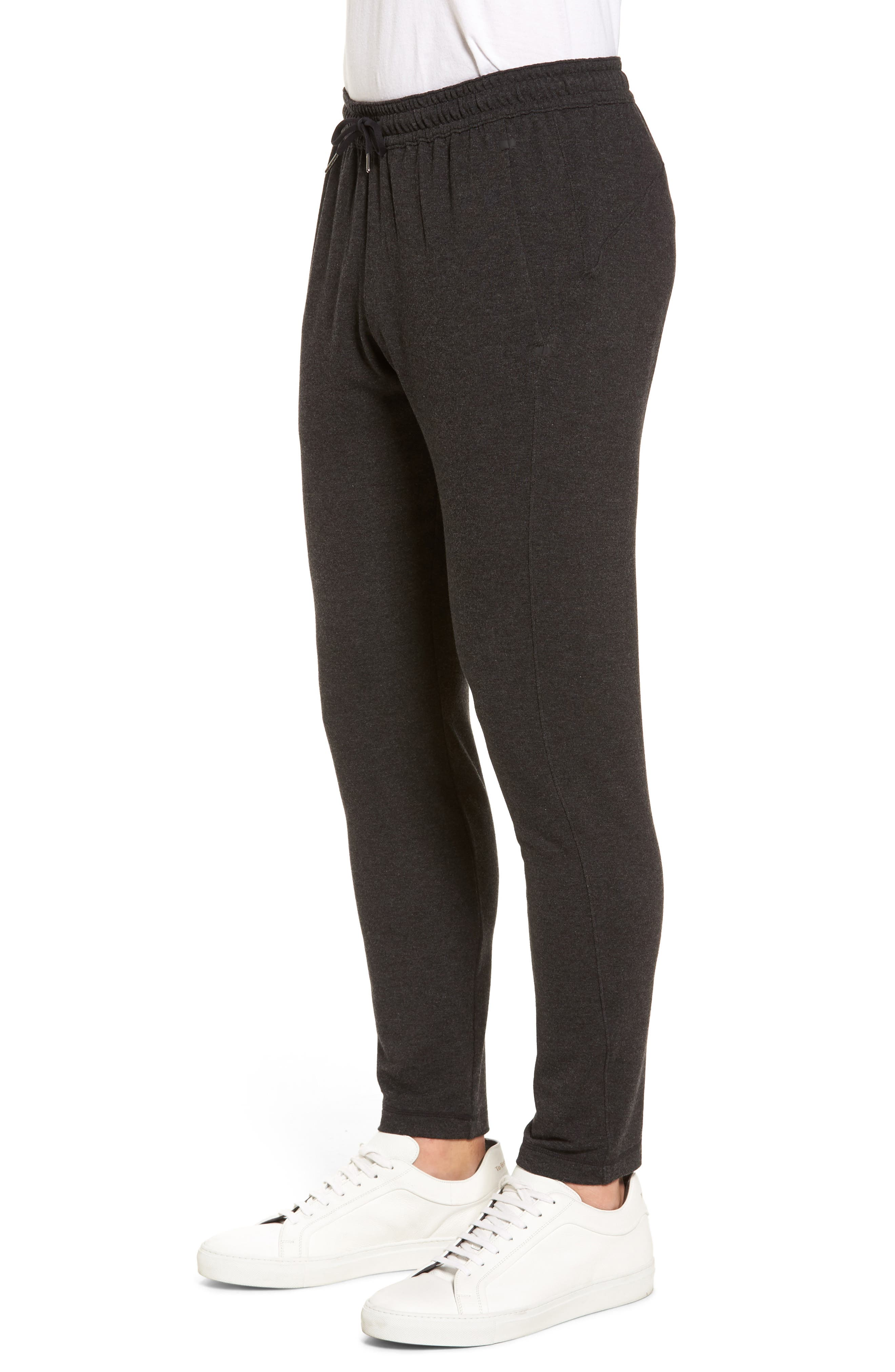 New Pyrite Tapered Fit Fleece Pants,                             Alternate thumbnail 3, color,