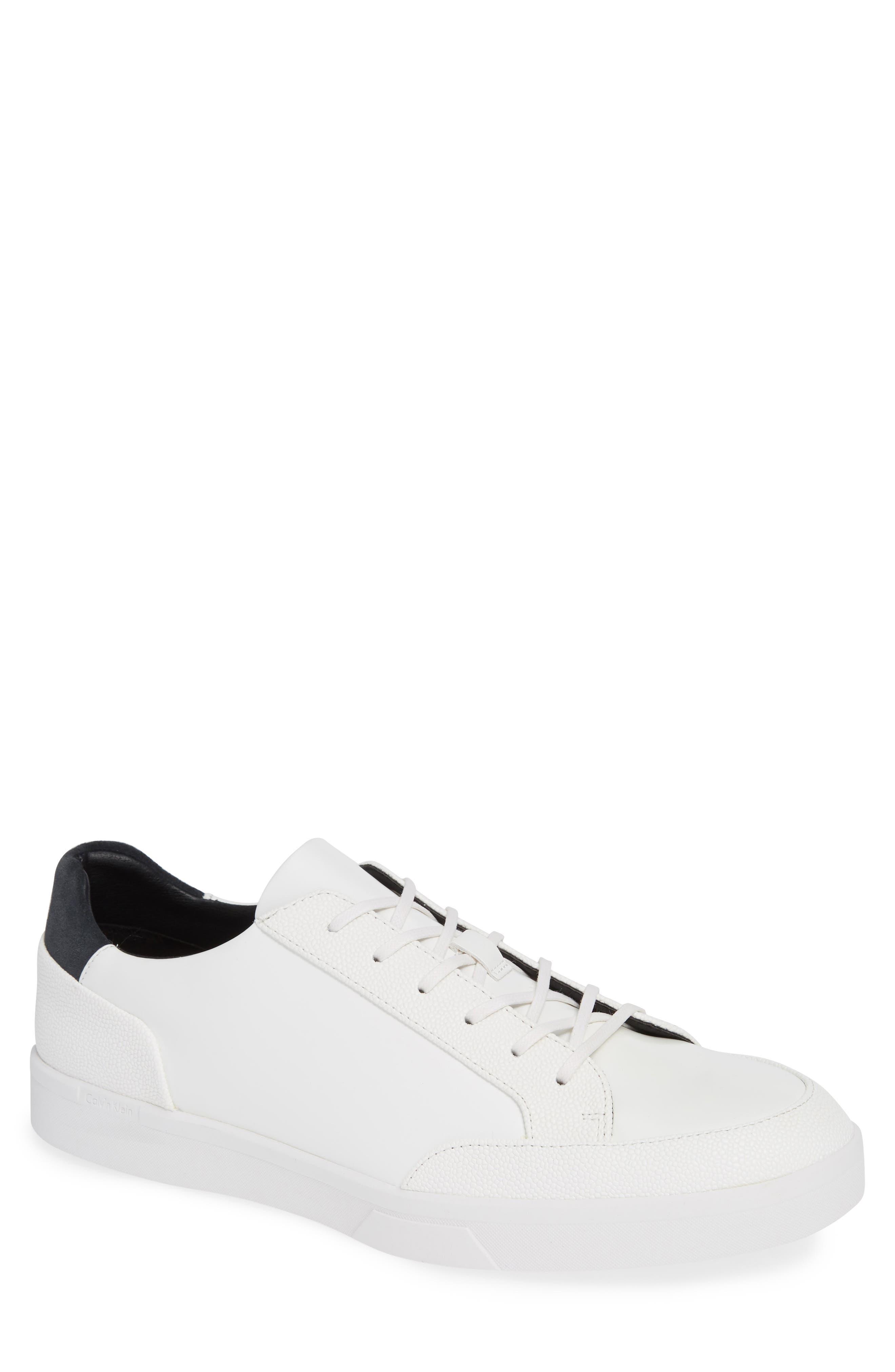 Izar Sneaker,                         Main,                         color, WHITE LEATHER