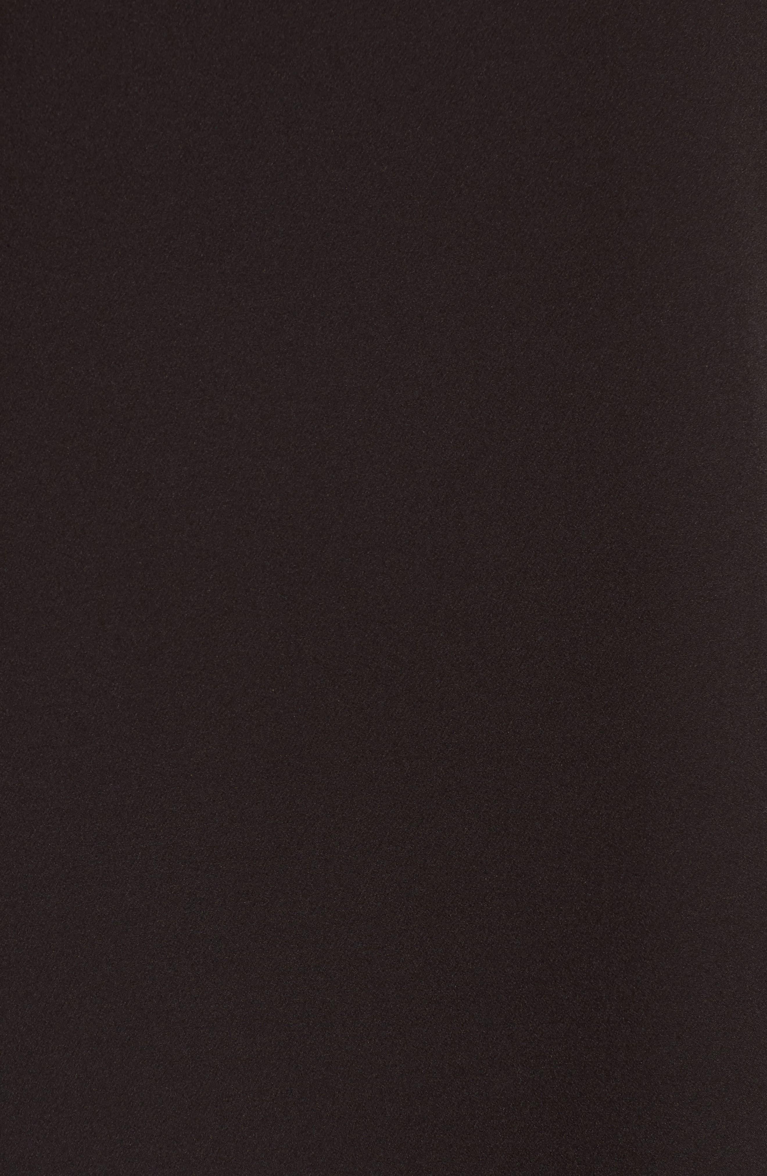 Ruffle Neck Shift Dress,                             Alternate thumbnail 5, color,                             002