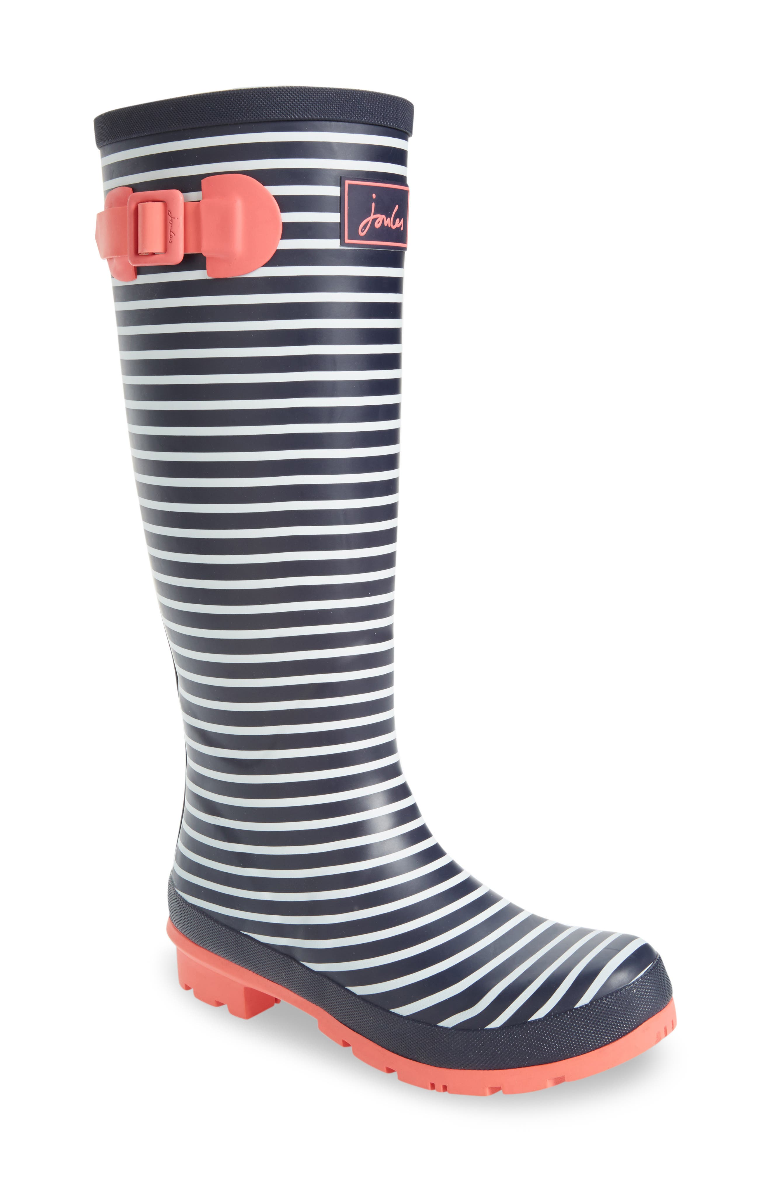 'Welly' Print Rain Boot,                             Main thumbnail 39, color,