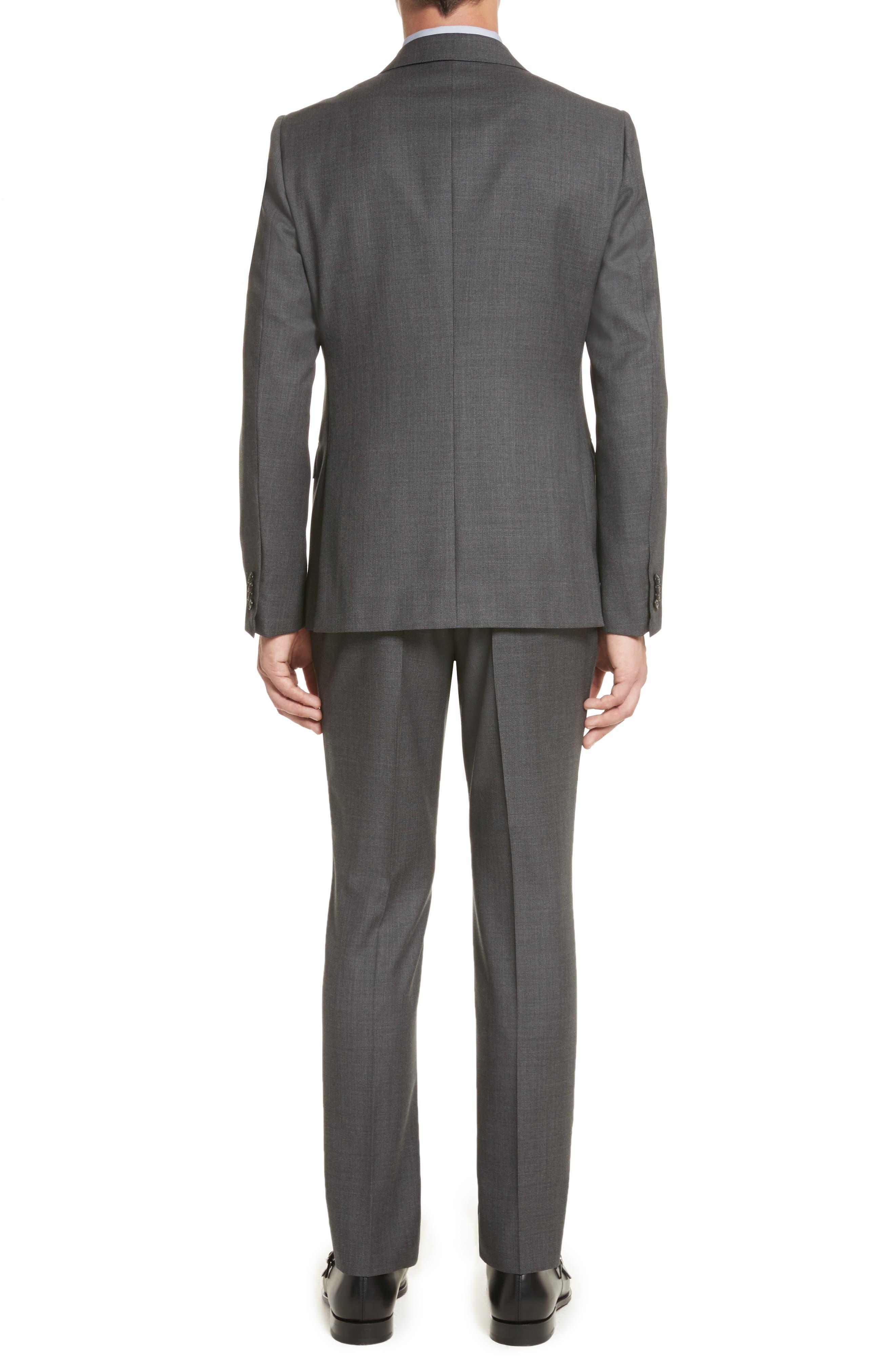 Z ZEGNA,                             Classic Fit Wool Suit,                             Alternate thumbnail 2, color,                             022