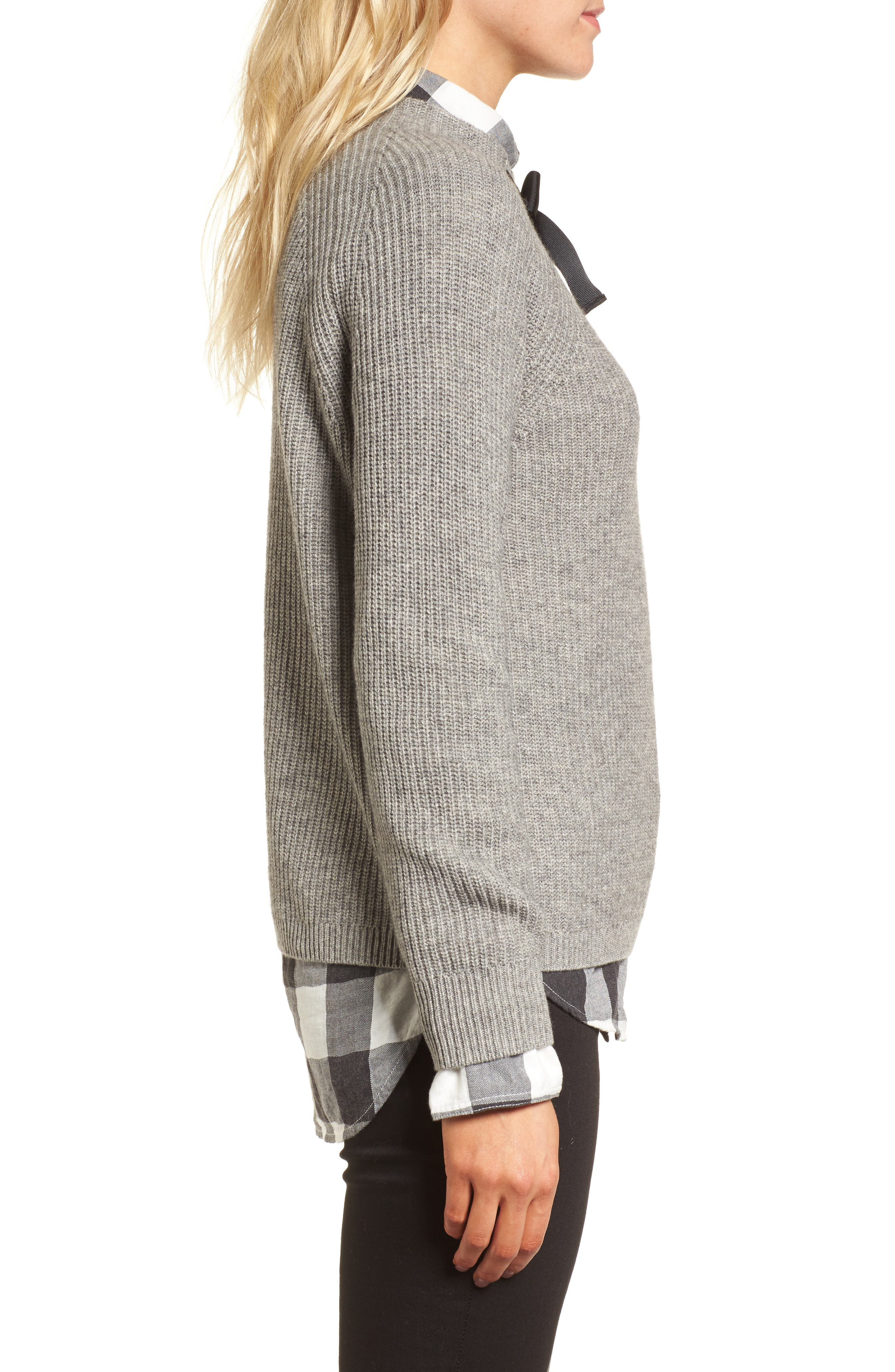 Gayle Tie Neck Sweater,                             Alternate thumbnail 12, color,