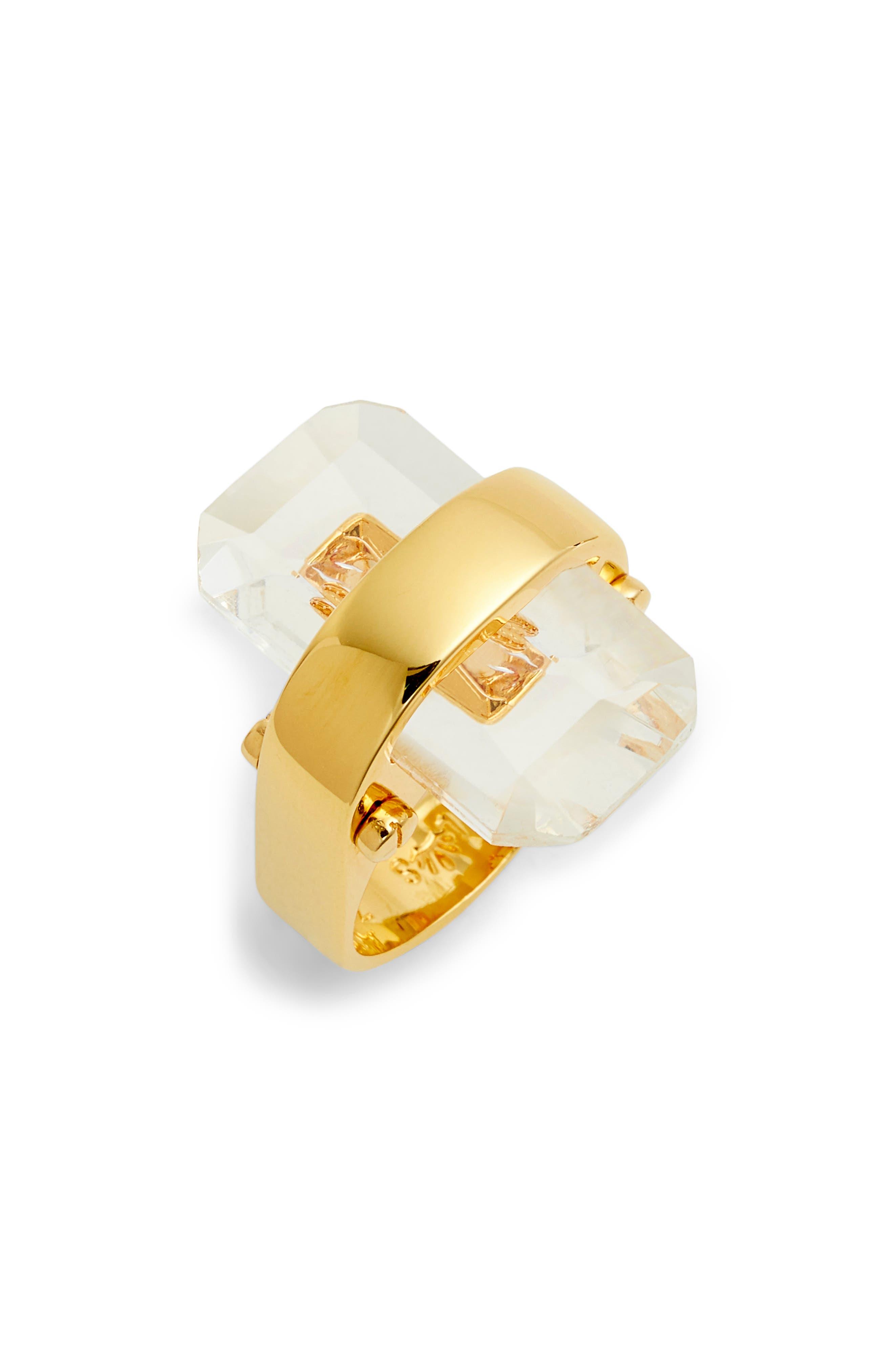 Sandbar Ring,                         Main,                         color, CLEAR