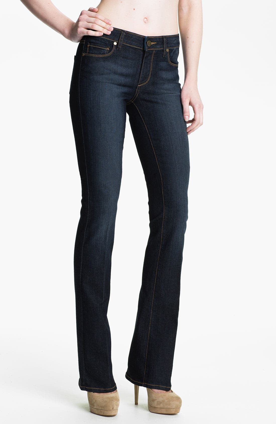 Denim 'Manhattan' Baby Bootcut Jeans,                         Main,                         color, 400