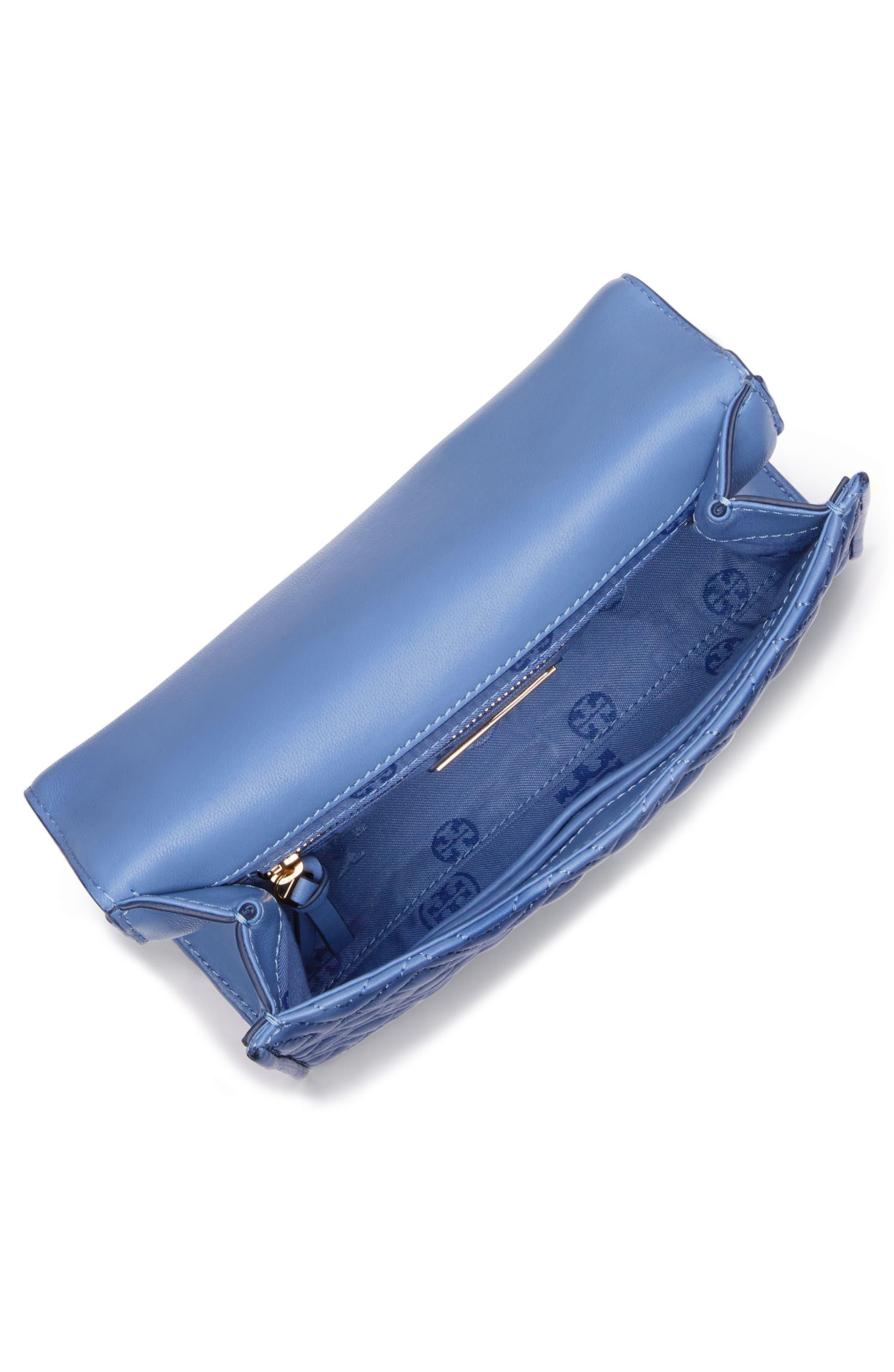 Fleming Convertible Leather Shoulder Bag,                             Alternate thumbnail 4, color,                             401