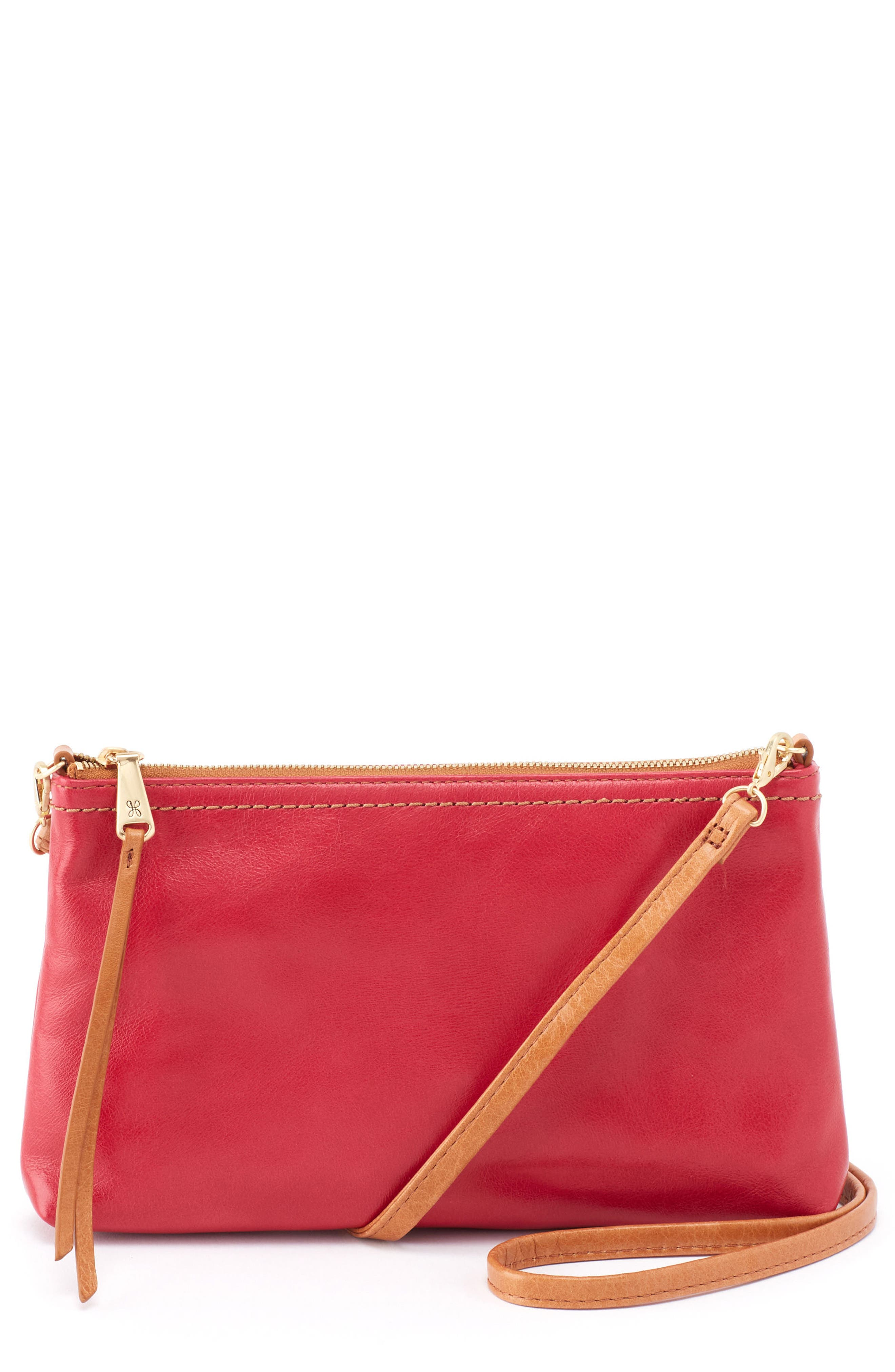 'Darcy' Leather Crossbody Bag,                             Main thumbnail 7, color,