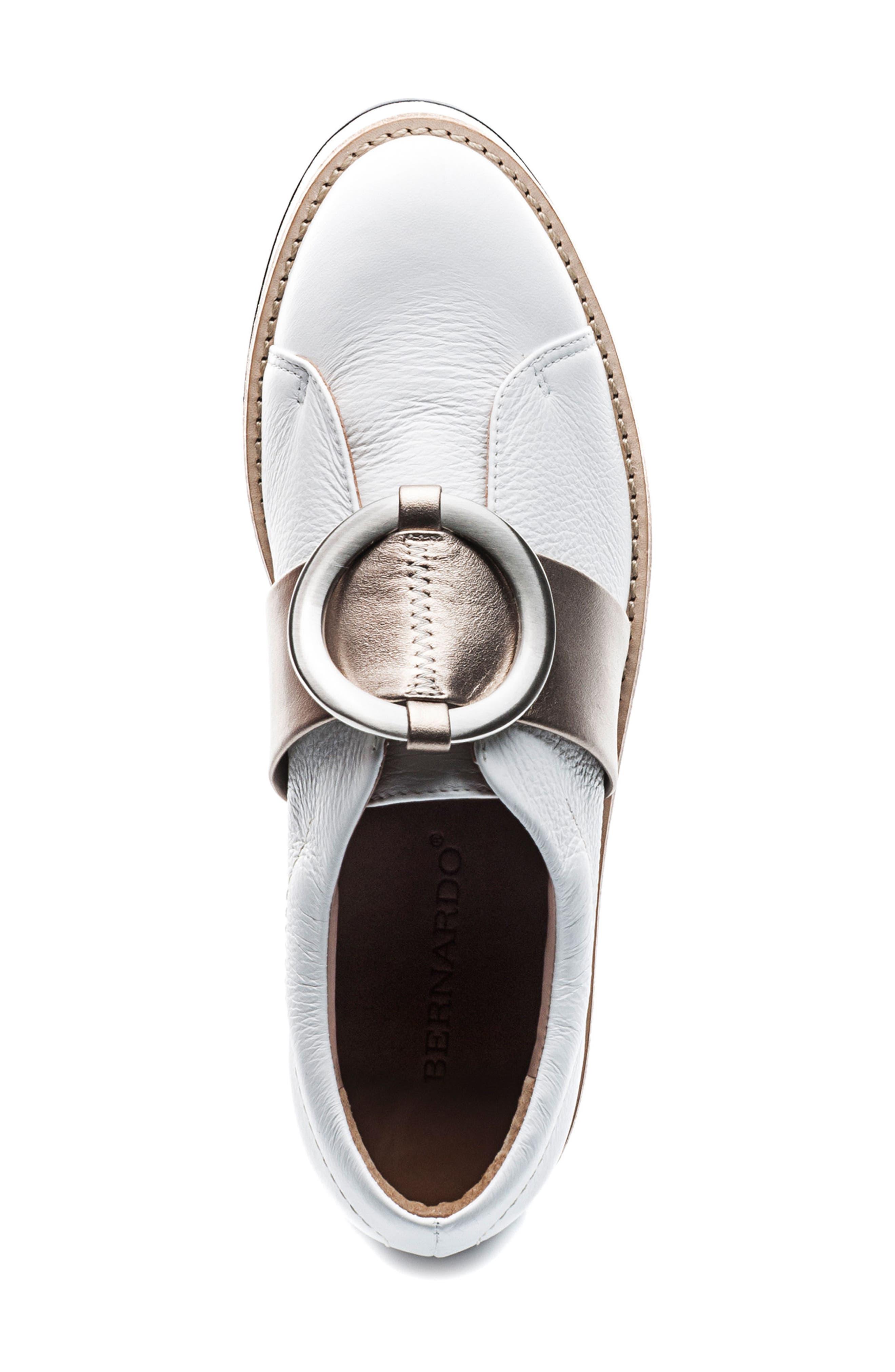 Susan Wedge Sneaker,                             Alternate thumbnail 5, color,                             100