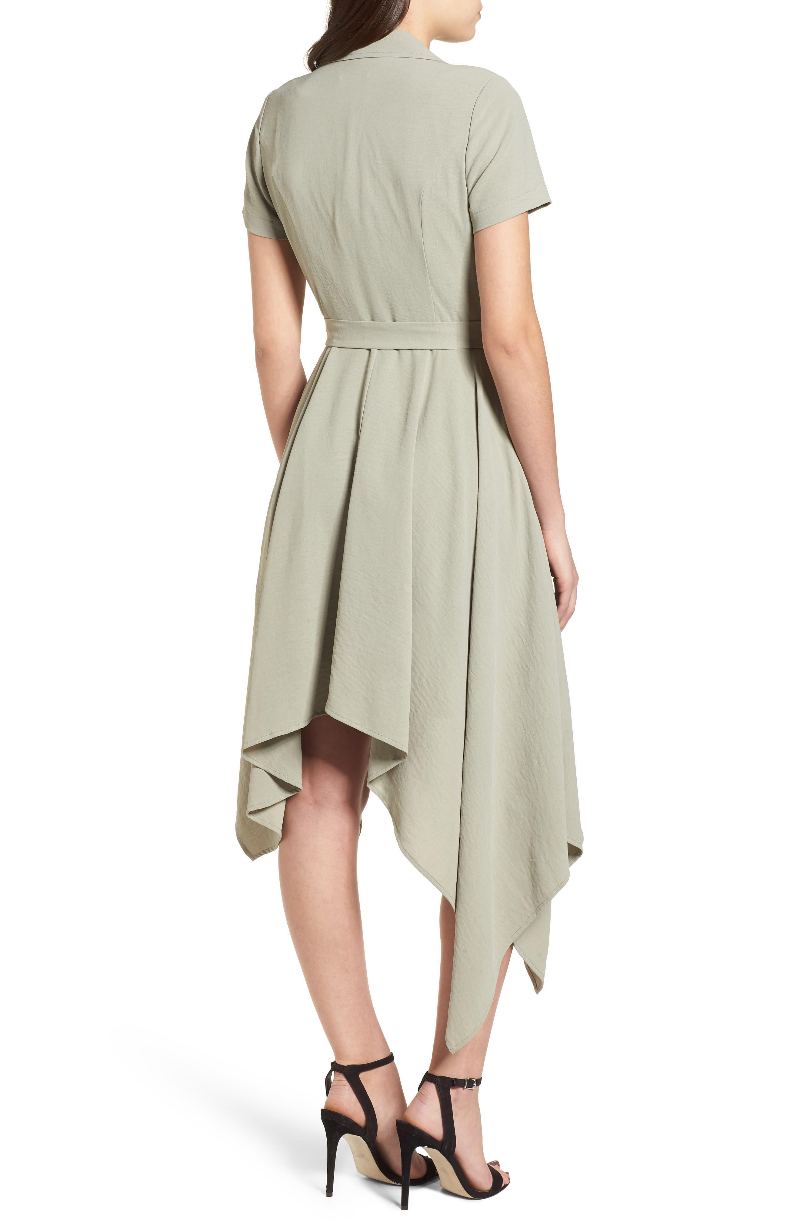Chriselle x J.O.A. Asymmetrical Trench Dress,                             Alternate thumbnail 2, color,                             300