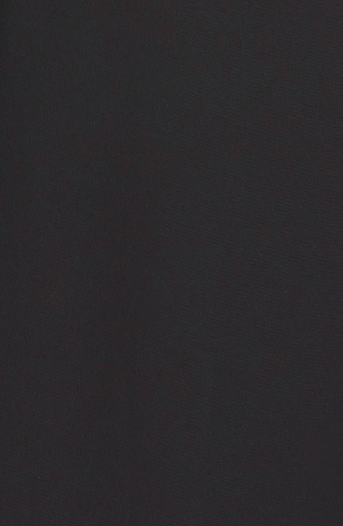 Blouson Chiffon Skater Dress,                             Alternate thumbnail 12, color,                             001