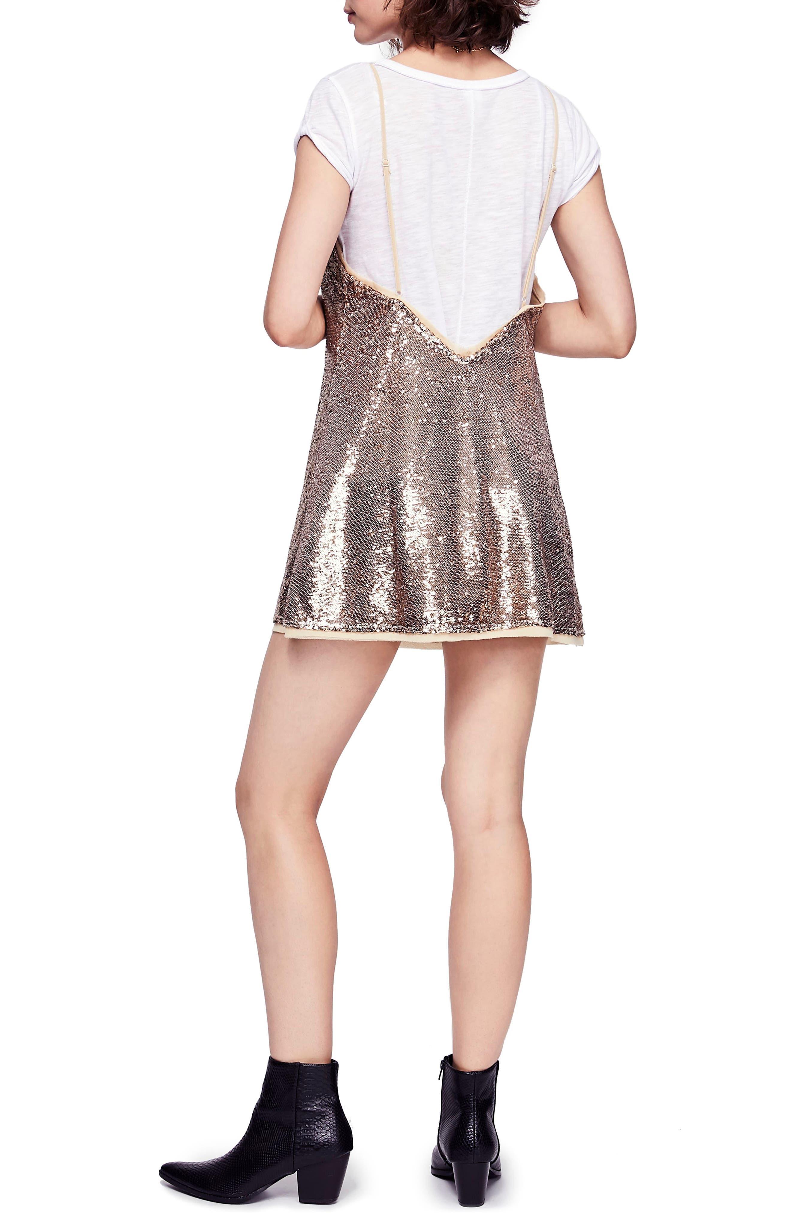 Time to Shine Sequin Slipdress,                             Alternate thumbnail 2, color,                             710