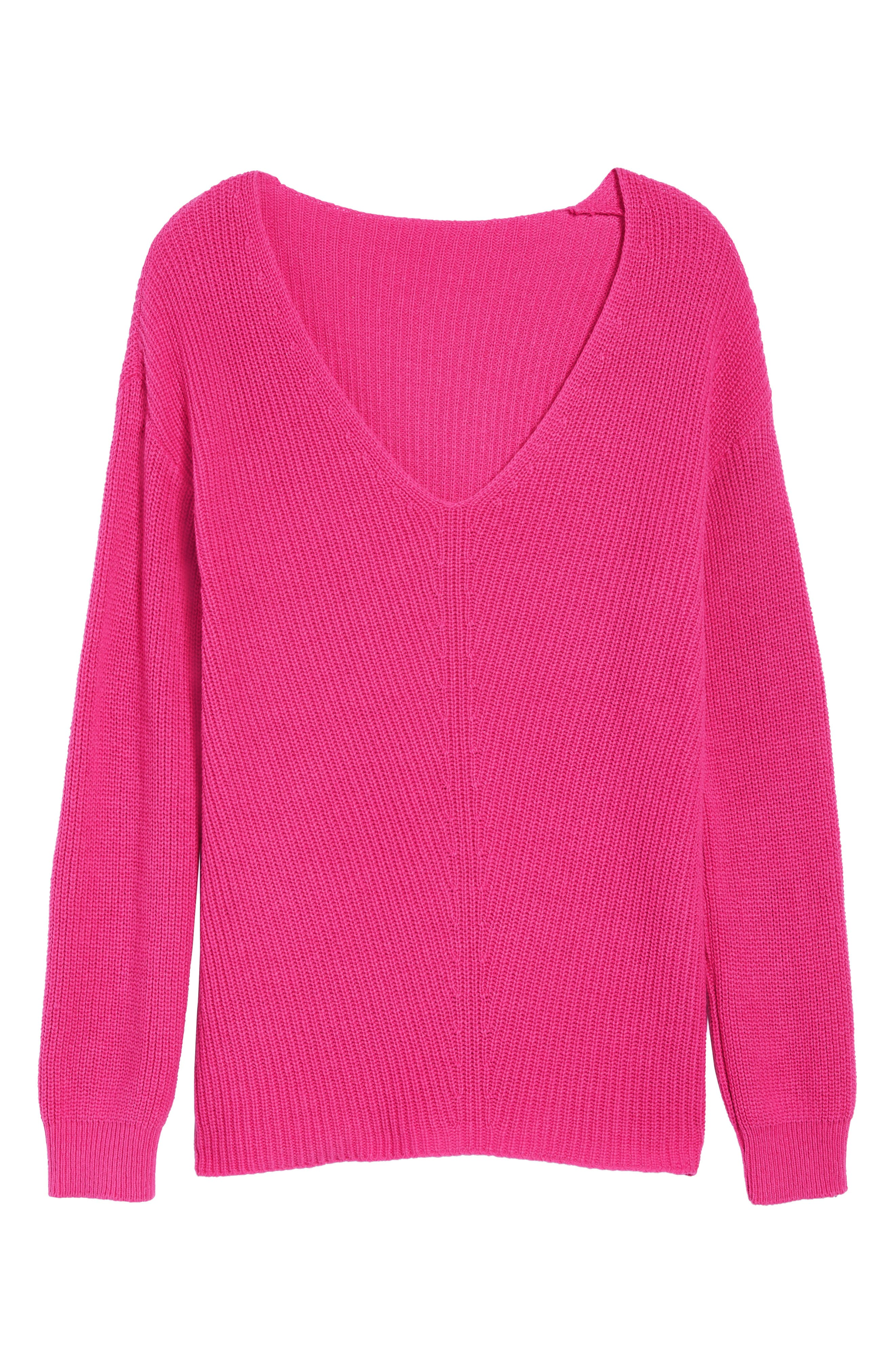 V-Neck Sweater,                             Alternate thumbnail 41, color,