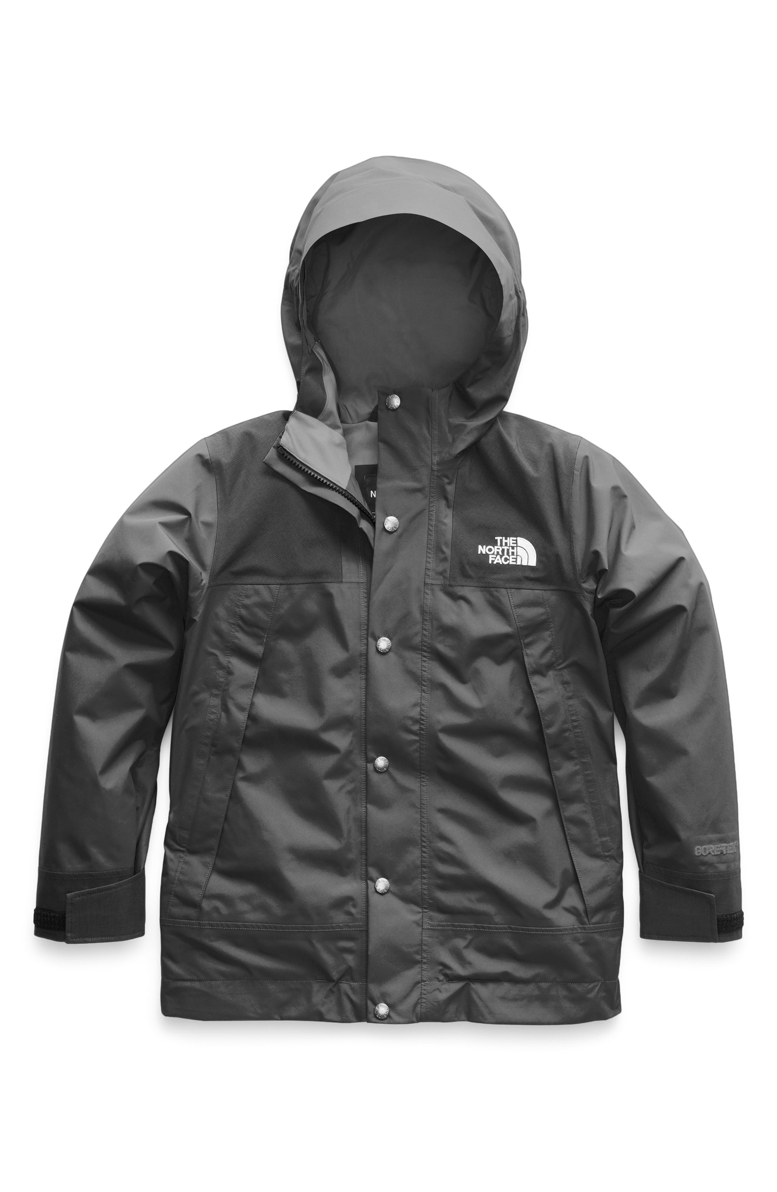 Mountain Gore-Tex<sup>®</sup> Waterproof Winter Jacket,                         Main,                         color, TNF BLACK