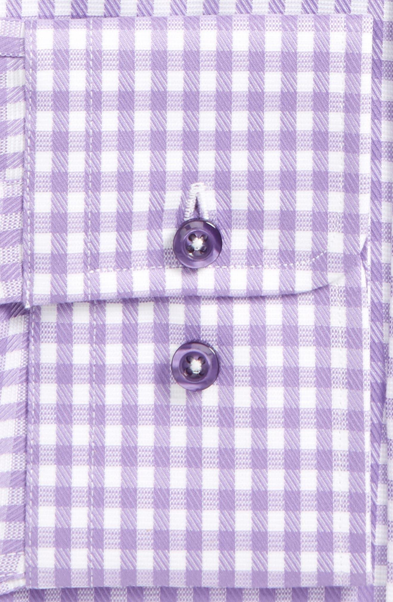 DAVID DONAHUE,                             Slim Fit Check Dress Shirt,                             Alternate thumbnail 2, color,                             534