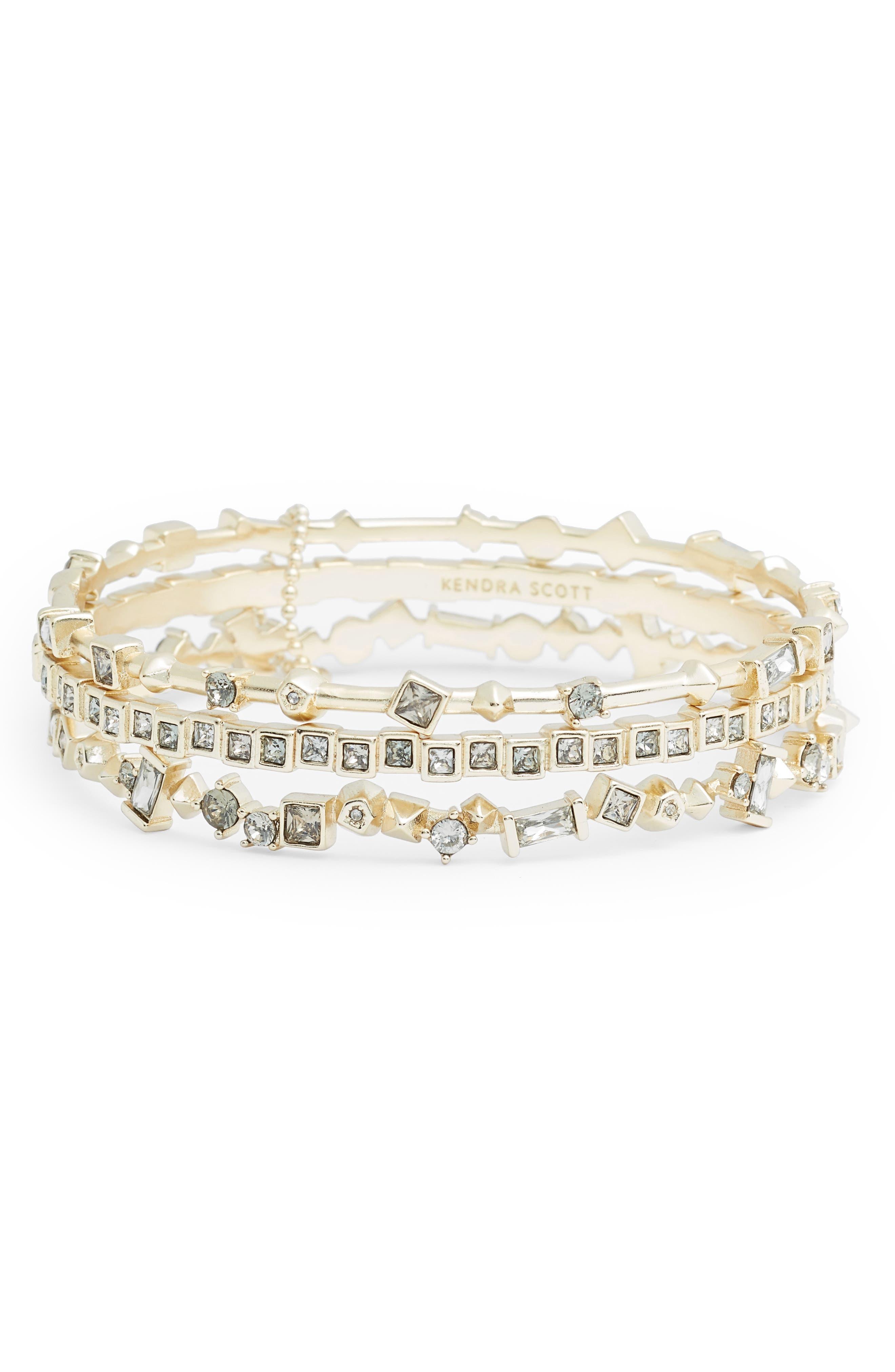 Malia Set of 3 Bracelets,                         Main,                         color, 020