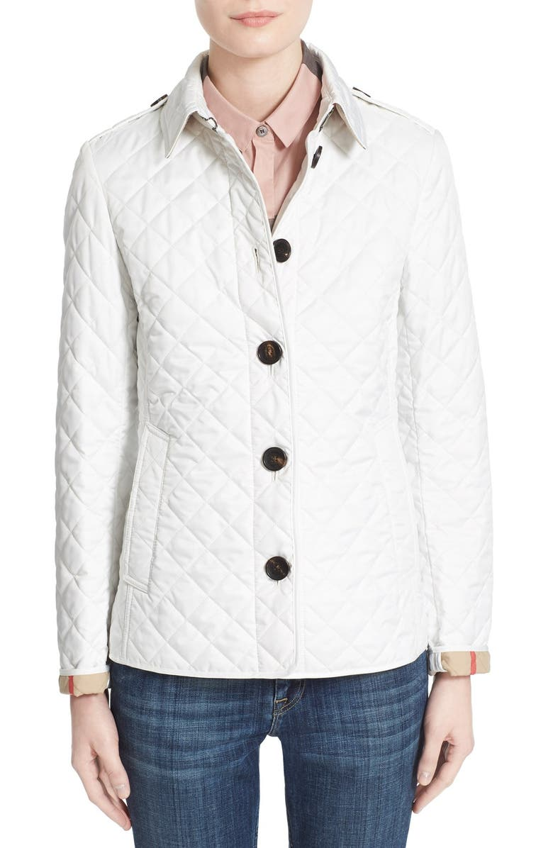 Burberry Brit Ashurst Quilted Jacket Nordstrom