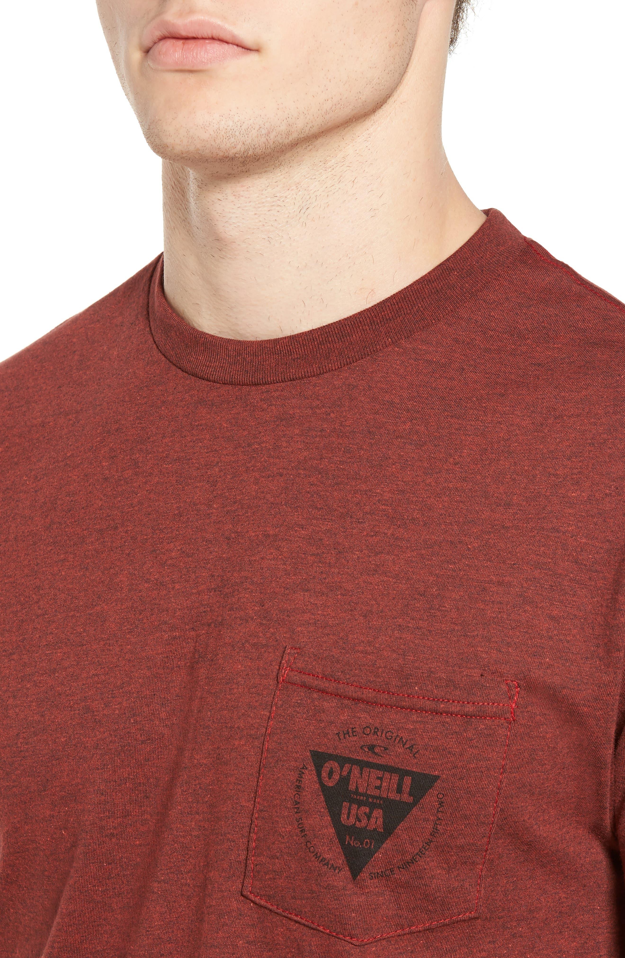 Diver Graphic Pocket T-Shirt,                             Alternate thumbnail 11, color,