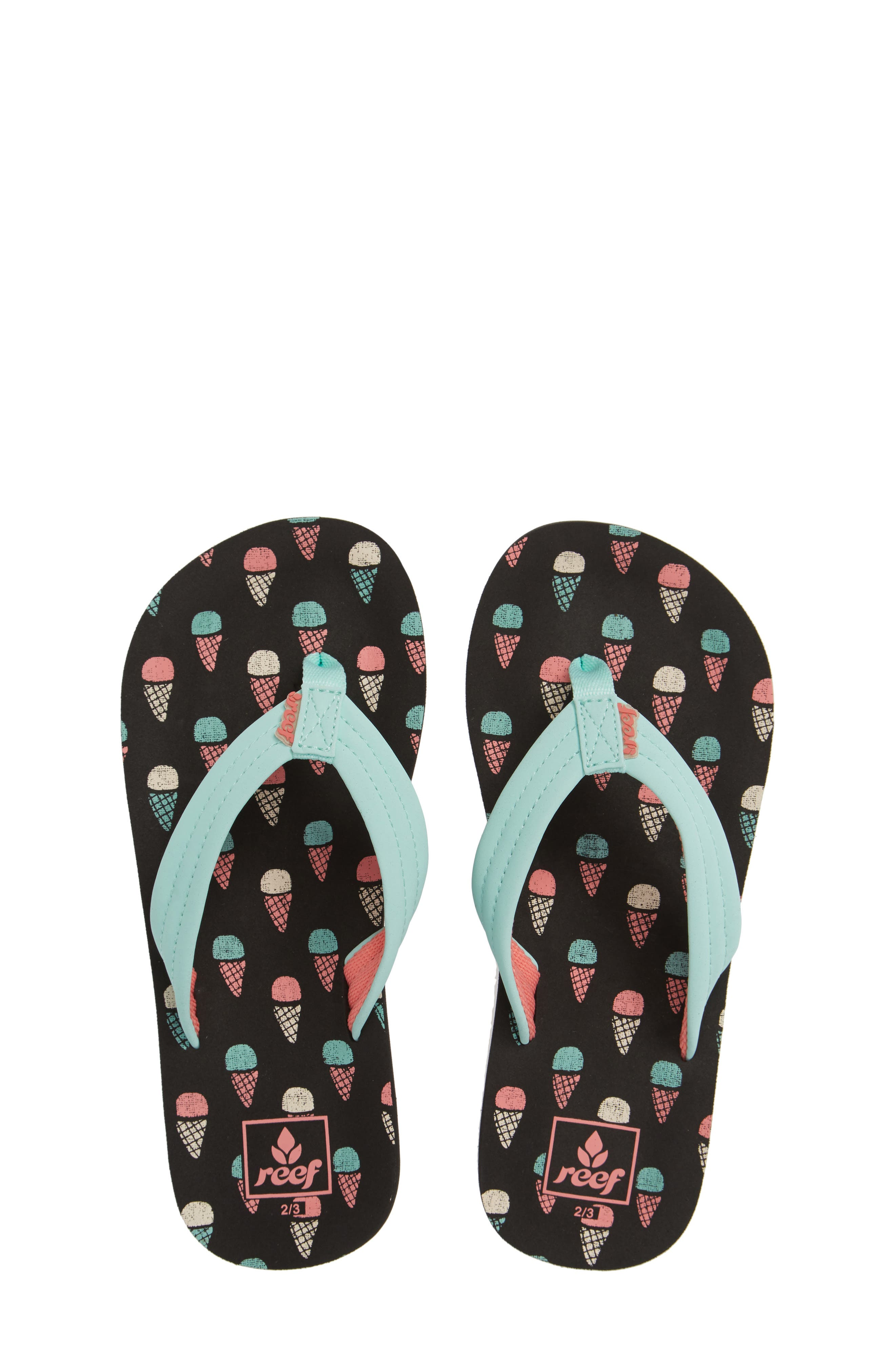 REEF Ahi Flip Flop, Main, color, ICE CREAM