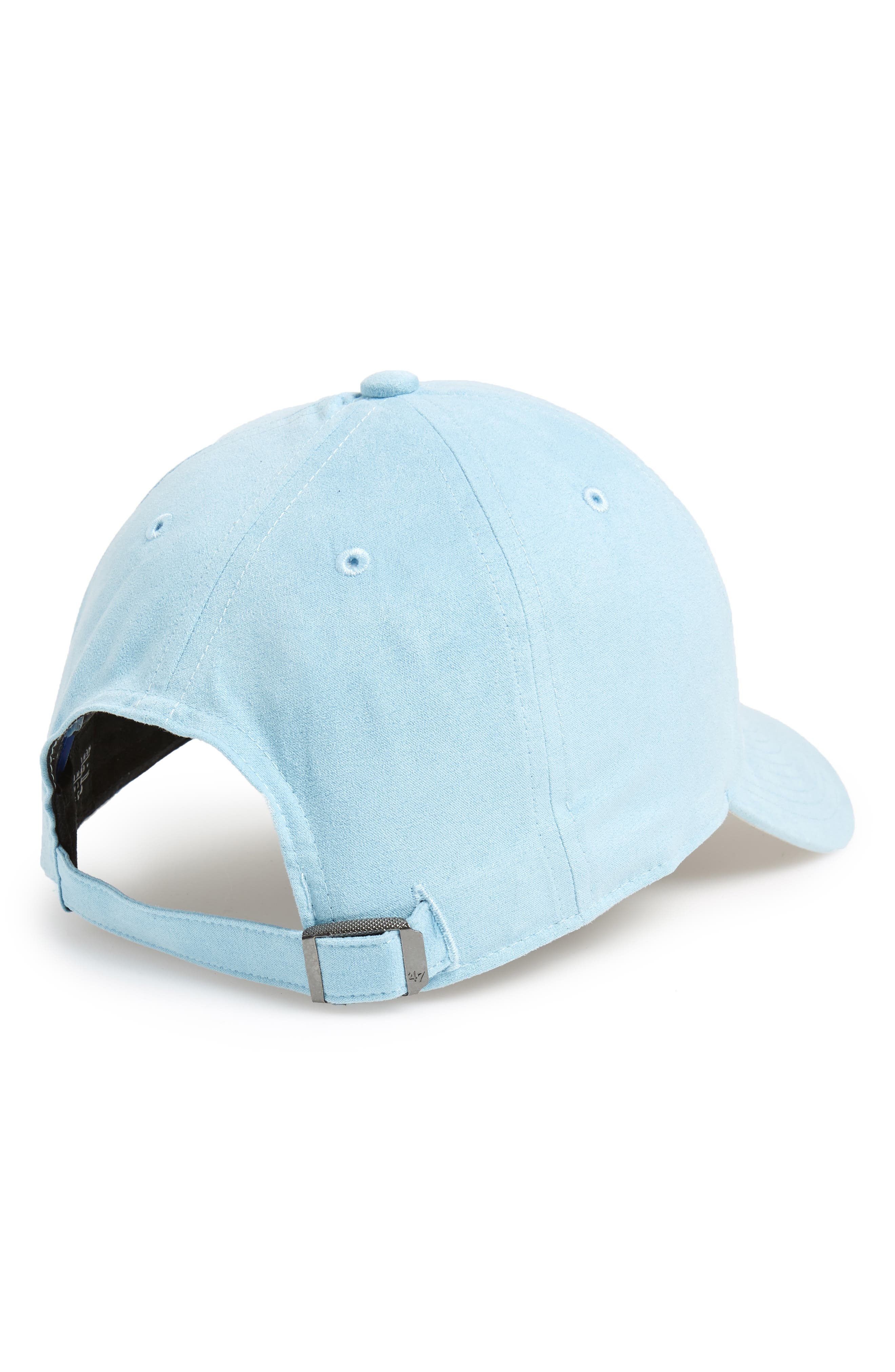 Ultrabasic Clean Up Los Angeles Dodgers Baseball Cap,                             Alternate thumbnail 2, color,                             LIGHT BLUE