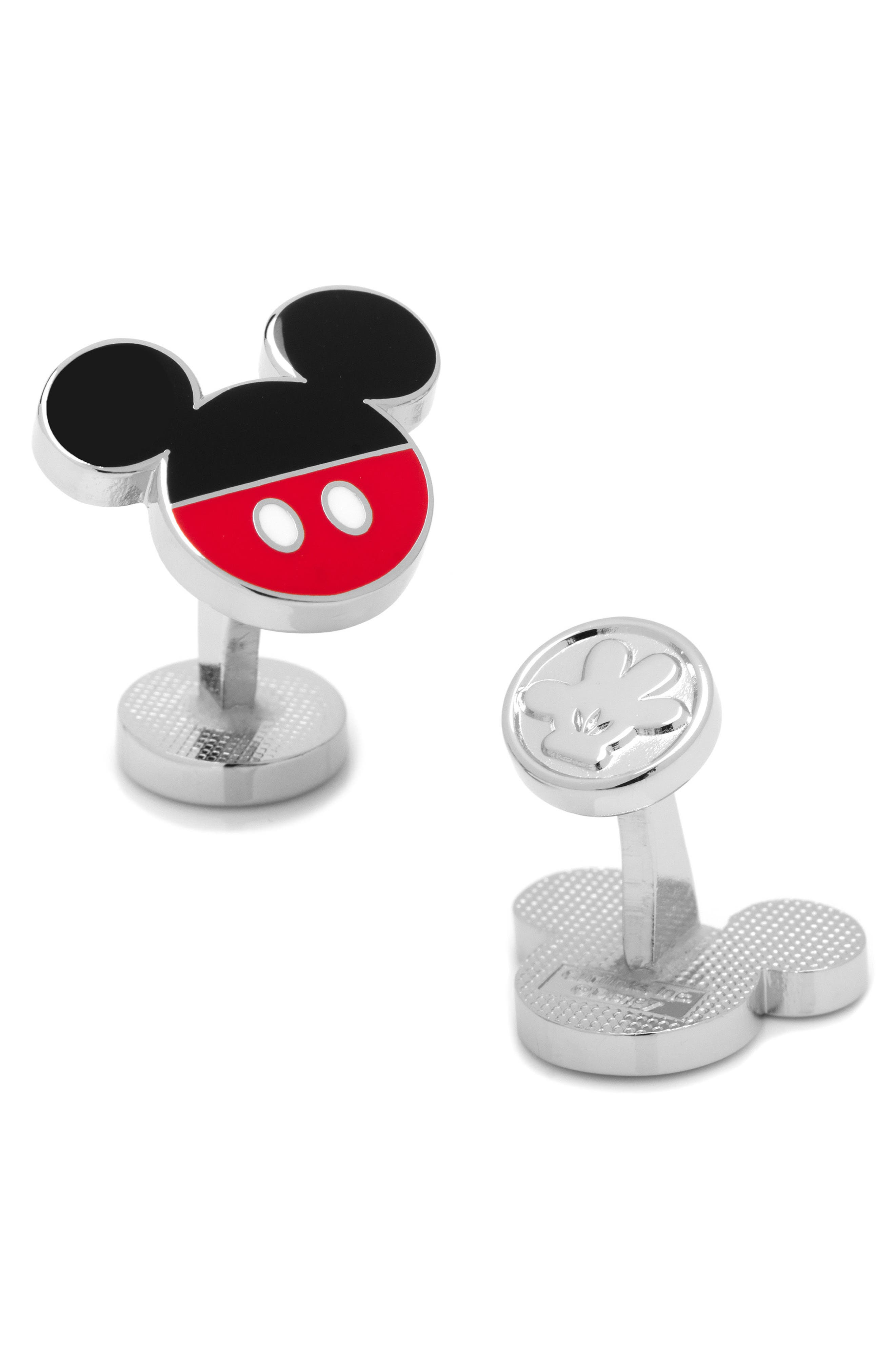 Disney Mickey Mouse Cuff Links,                             Main thumbnail 1, color,                             606