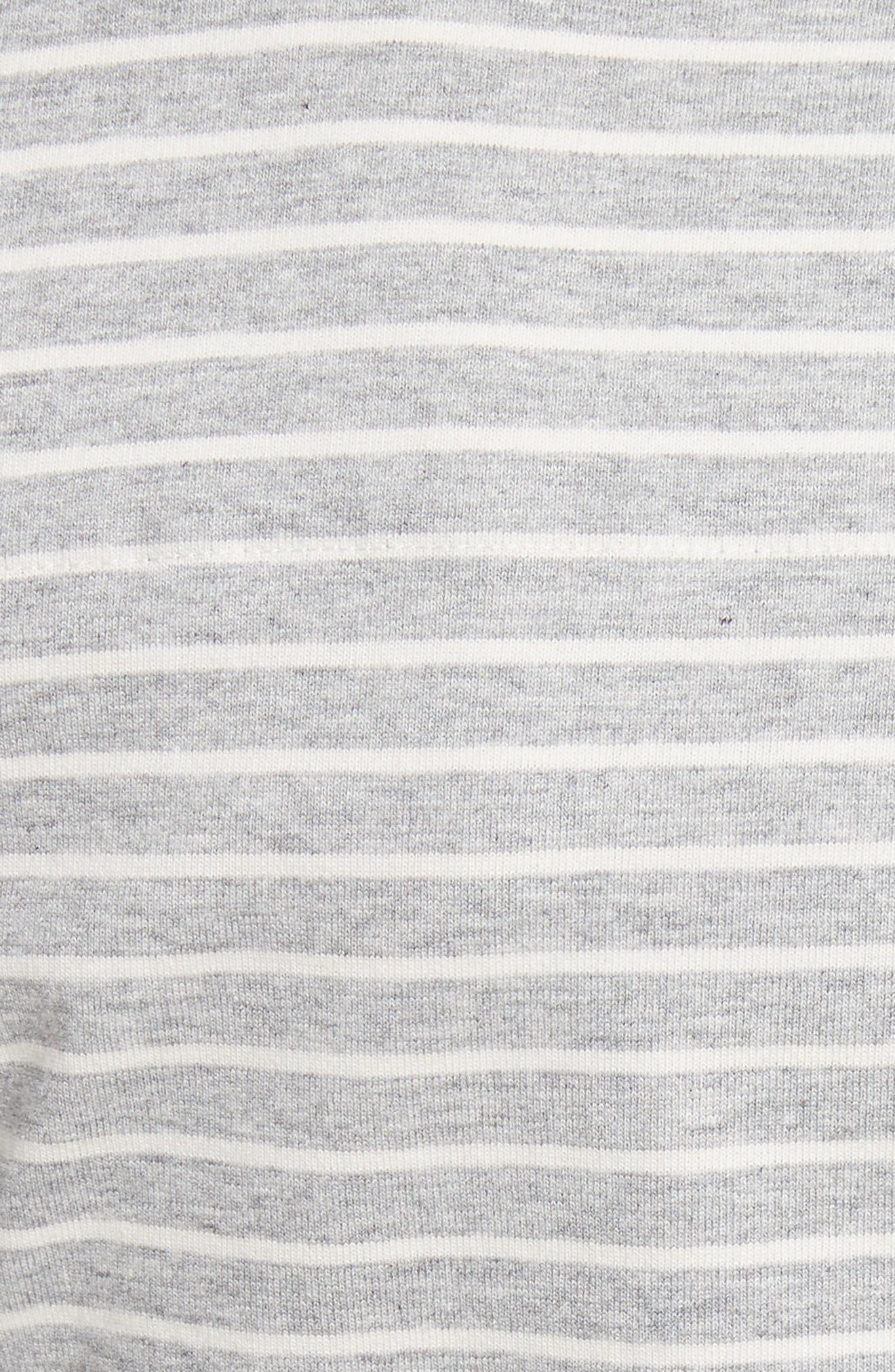 Stripe Jersey Top,                             Alternate thumbnail 5, color,                             029