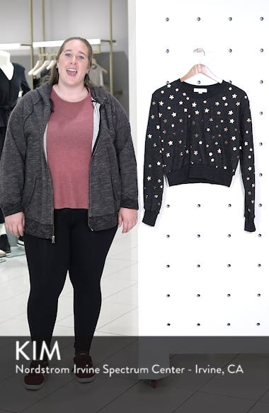 Stars Crop Pullover, sales video thumbnail
