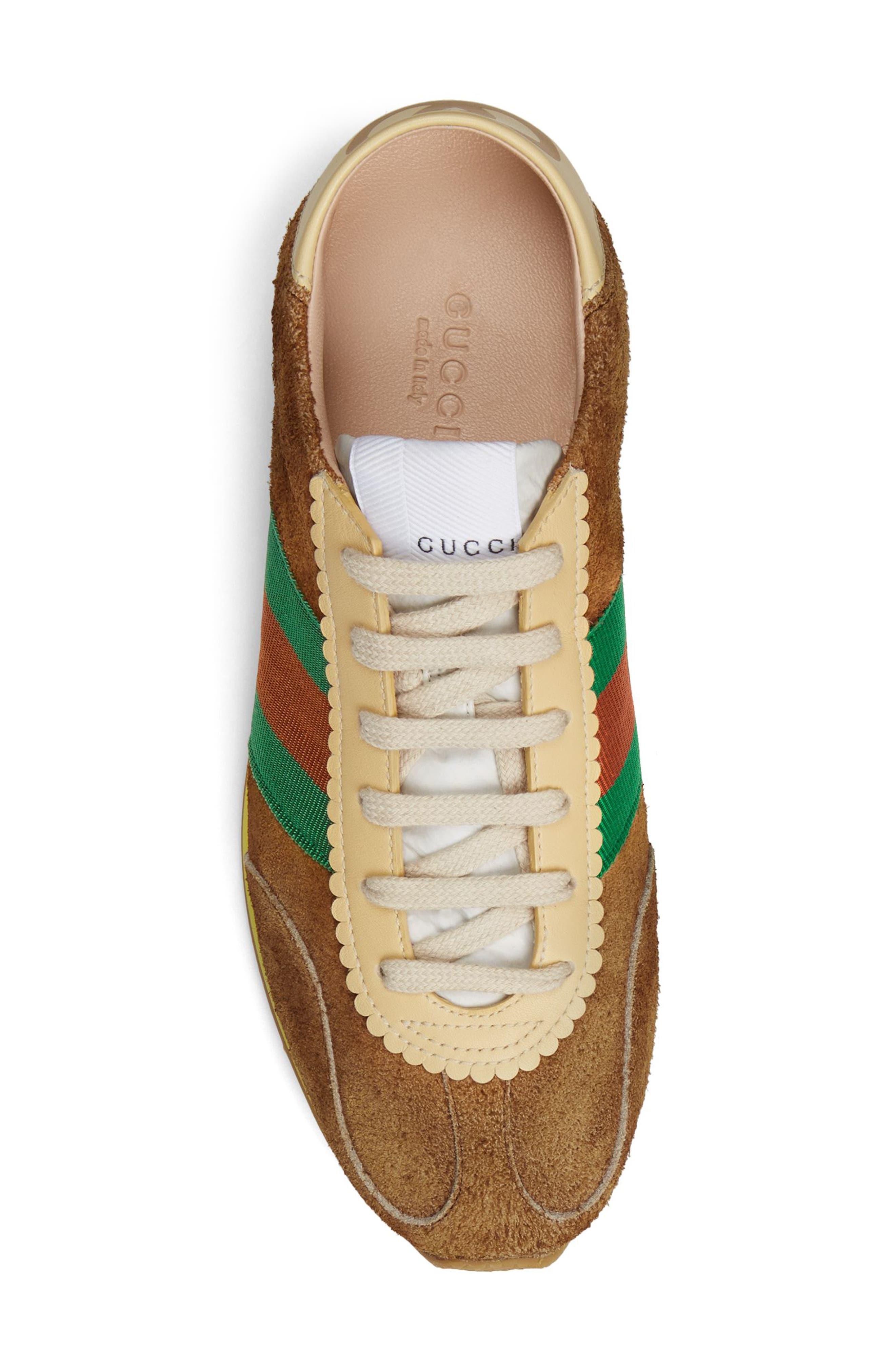 Rocket Convertible Sneaker,                             Alternate thumbnail 6, color,                             BROWN