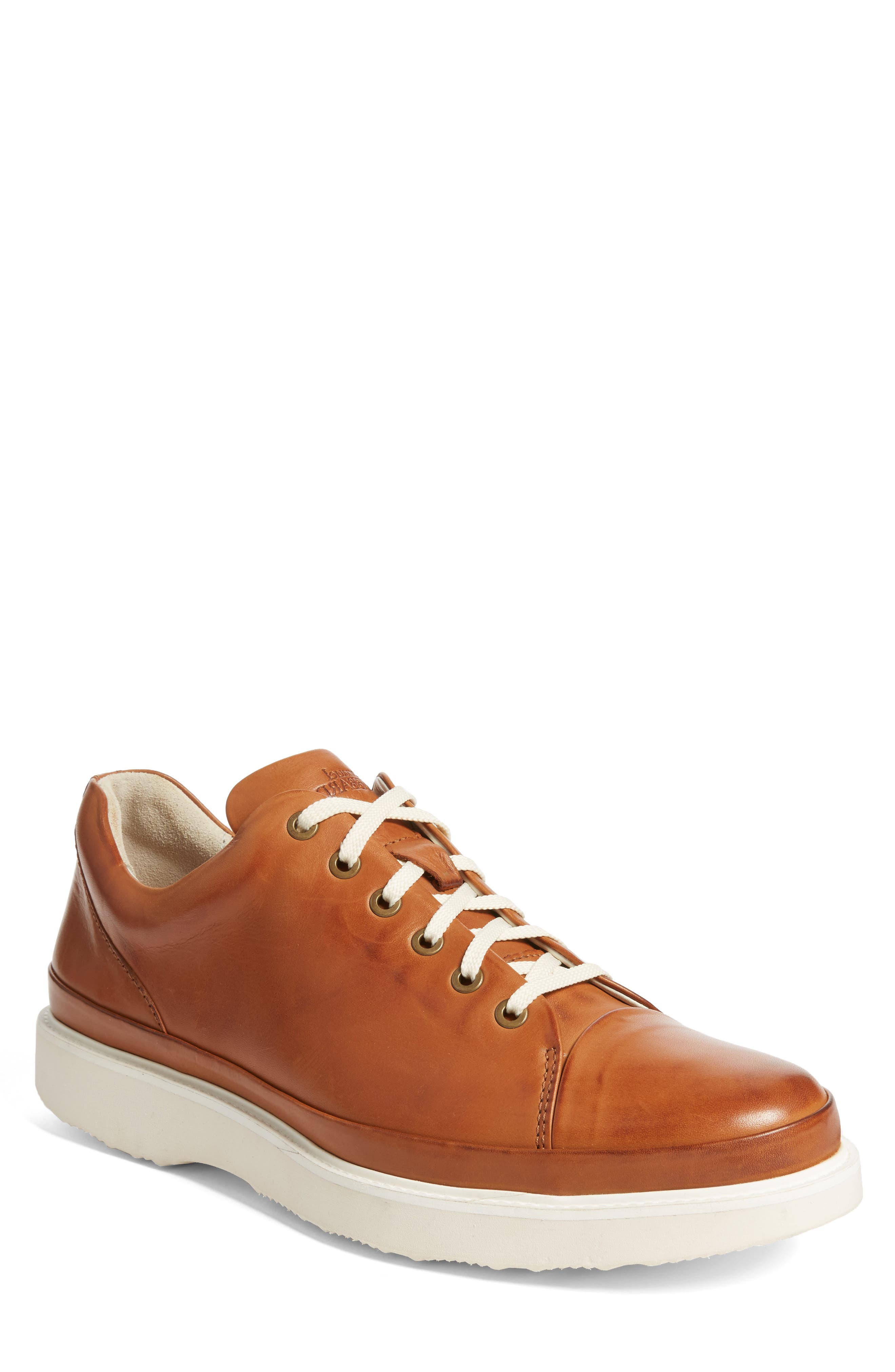 Sneaker,                             Main thumbnail 1, color,                             BURNISHED TAN