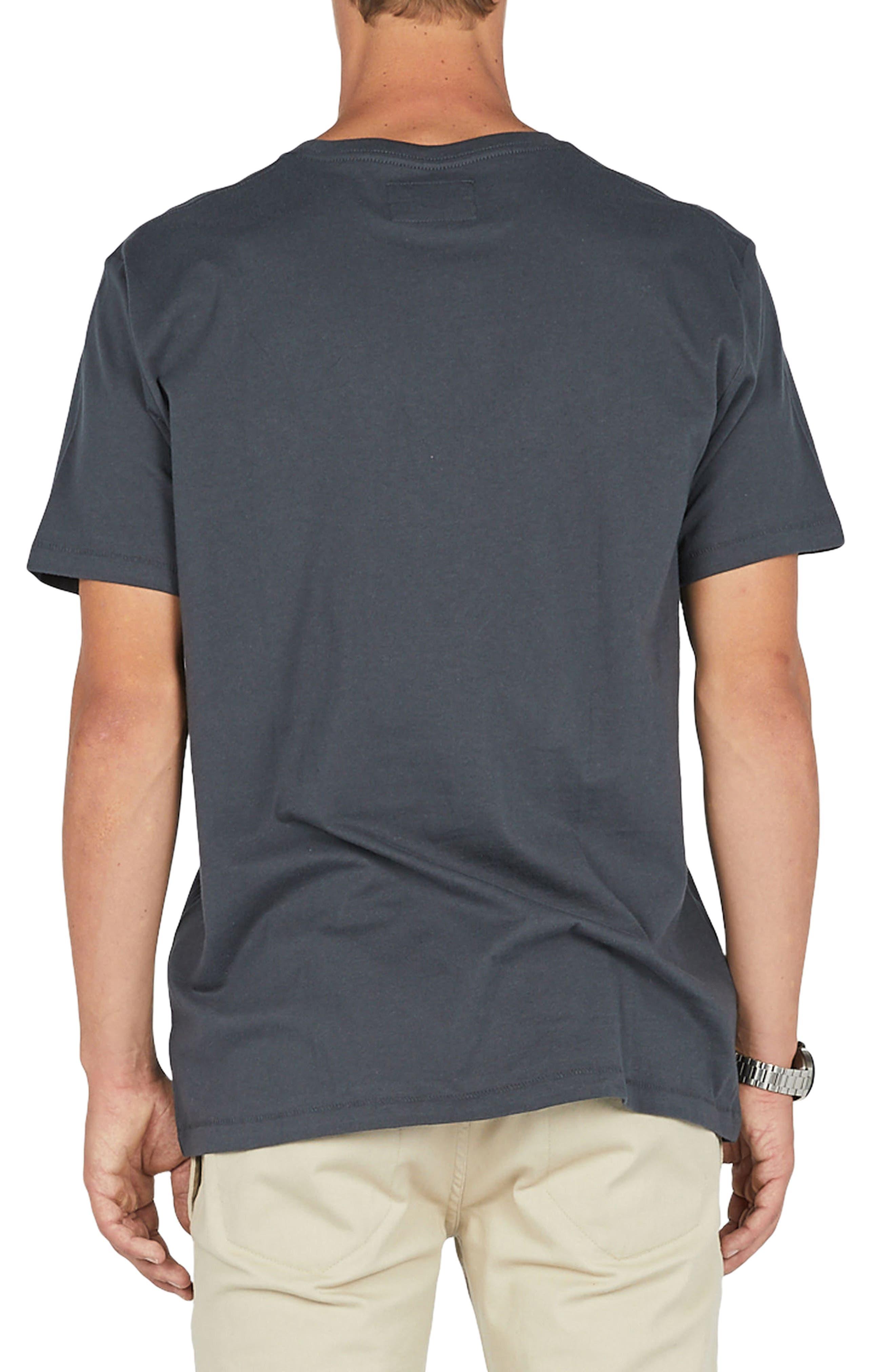 No Drama Badge T-Shirt,                             Alternate thumbnail 2, color,                             001