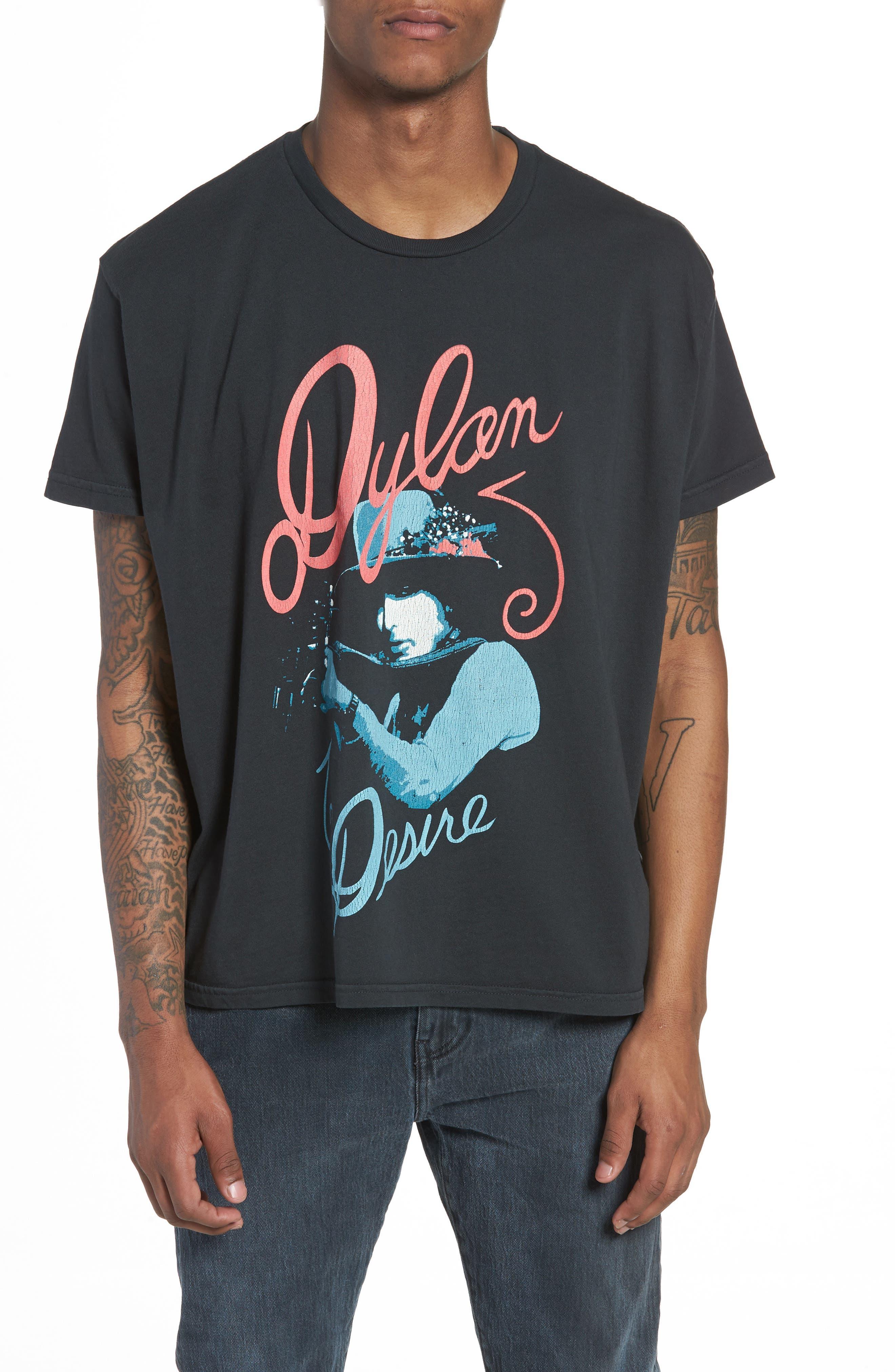 Dylan Desire T-Shirt,                             Main thumbnail 1, color,                             DUSTY BLACK