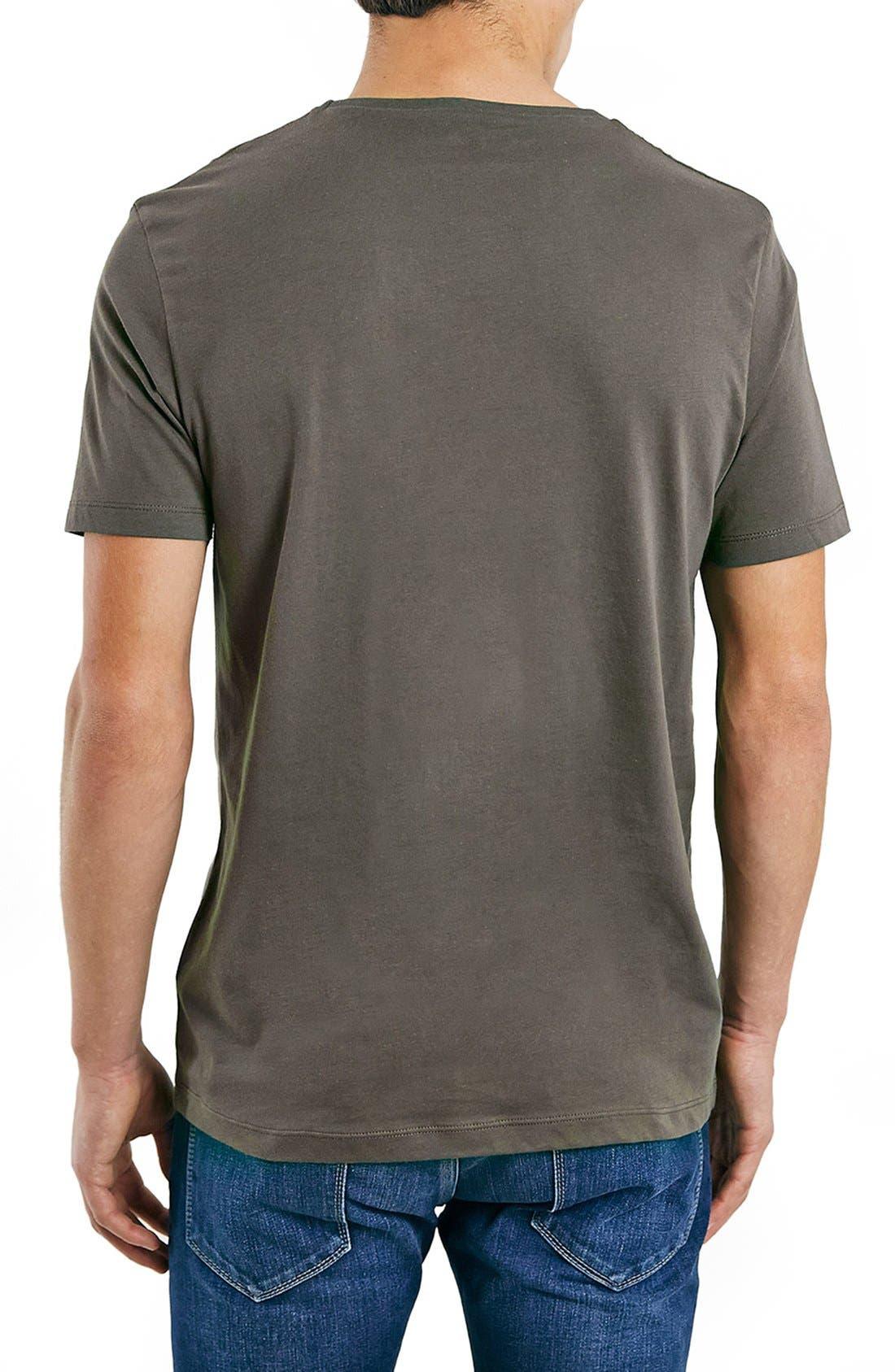 Slim Fit Crewneck T-Shirt,                             Alternate thumbnail 334, color,