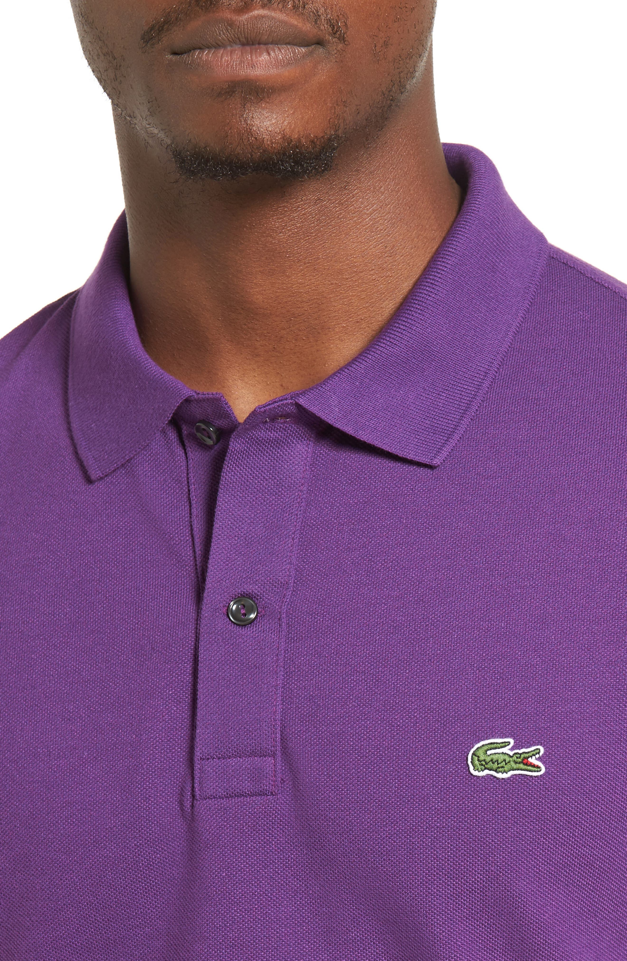 Slim Fit Piqué Polo,                             Alternate thumbnail 44, color,