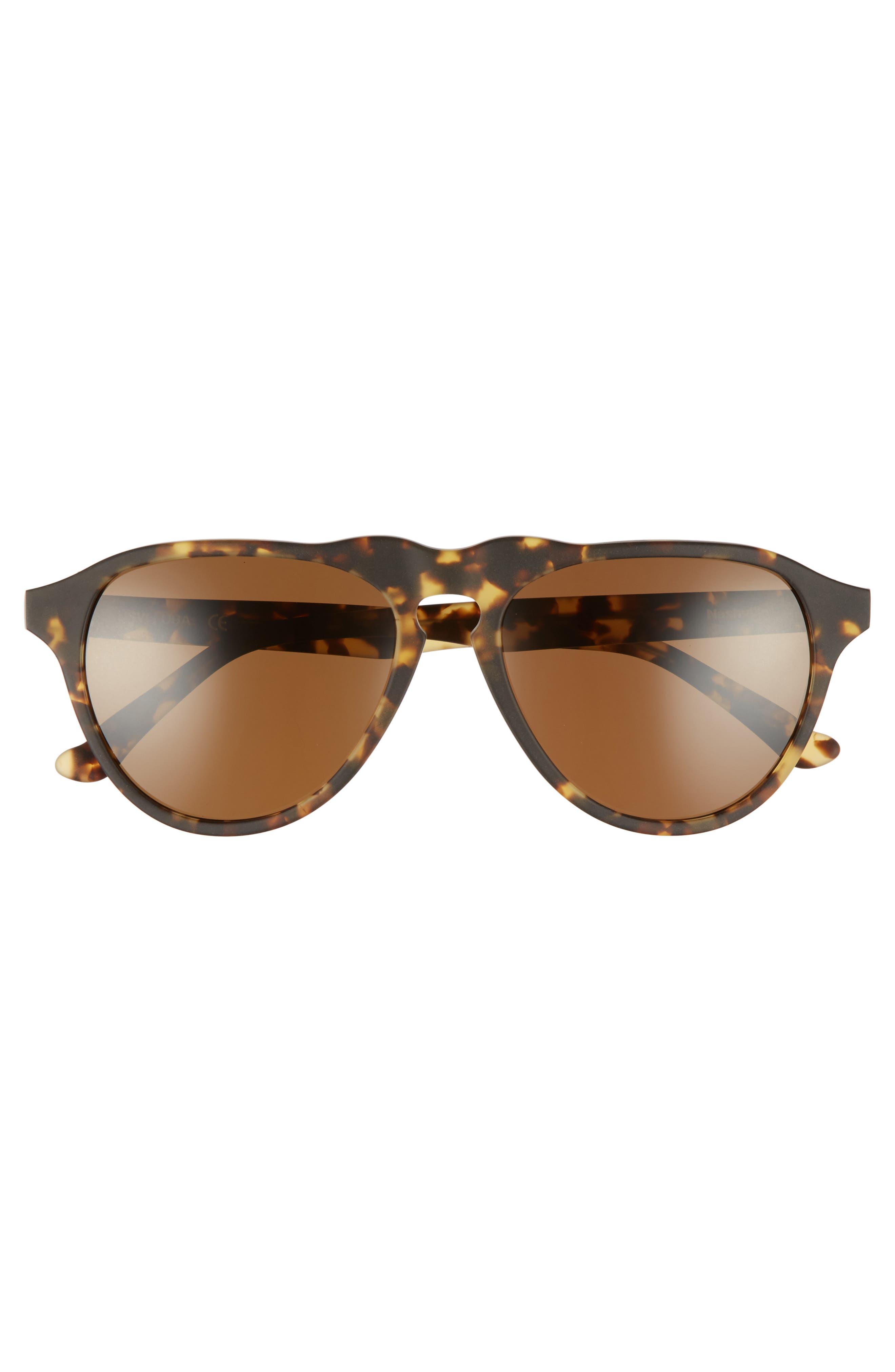 Nashville 54mm Polarized Aviator Sunglasses,                             Alternate thumbnail 3, color,                             BENGAL