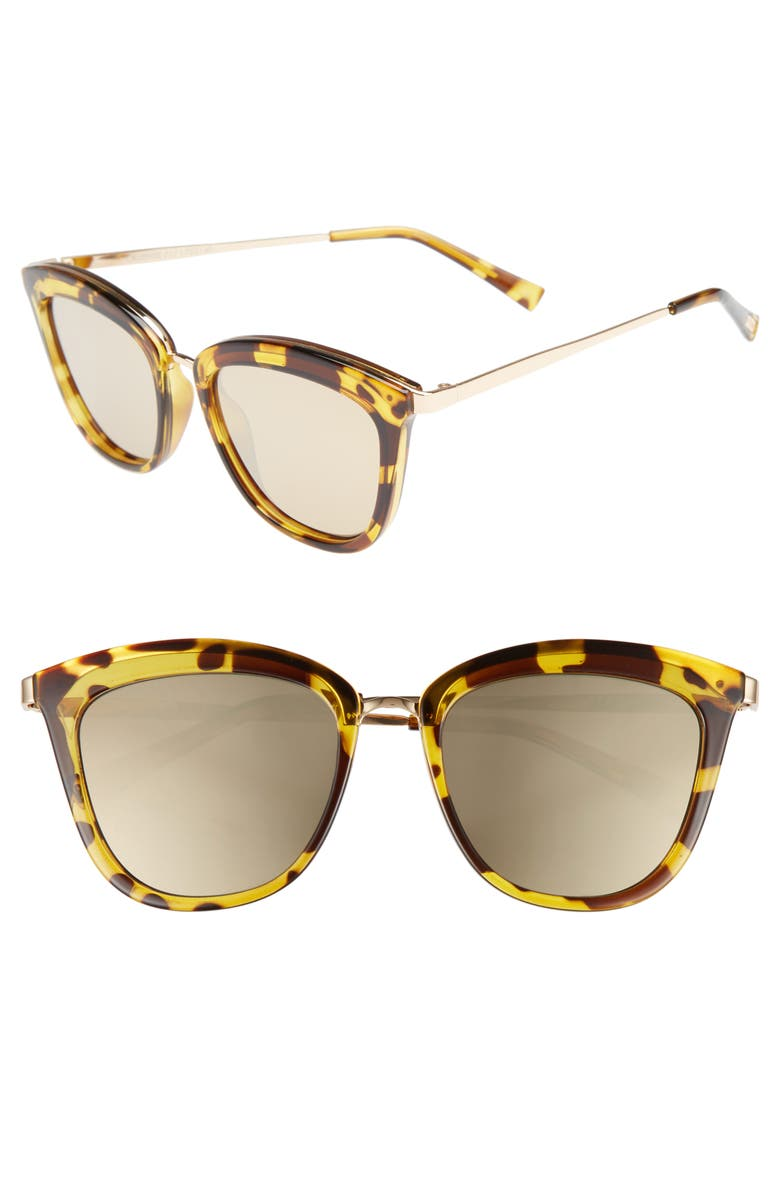 af2191e37f Le Specs Caliente 53mm Cat Eye Sunglasses