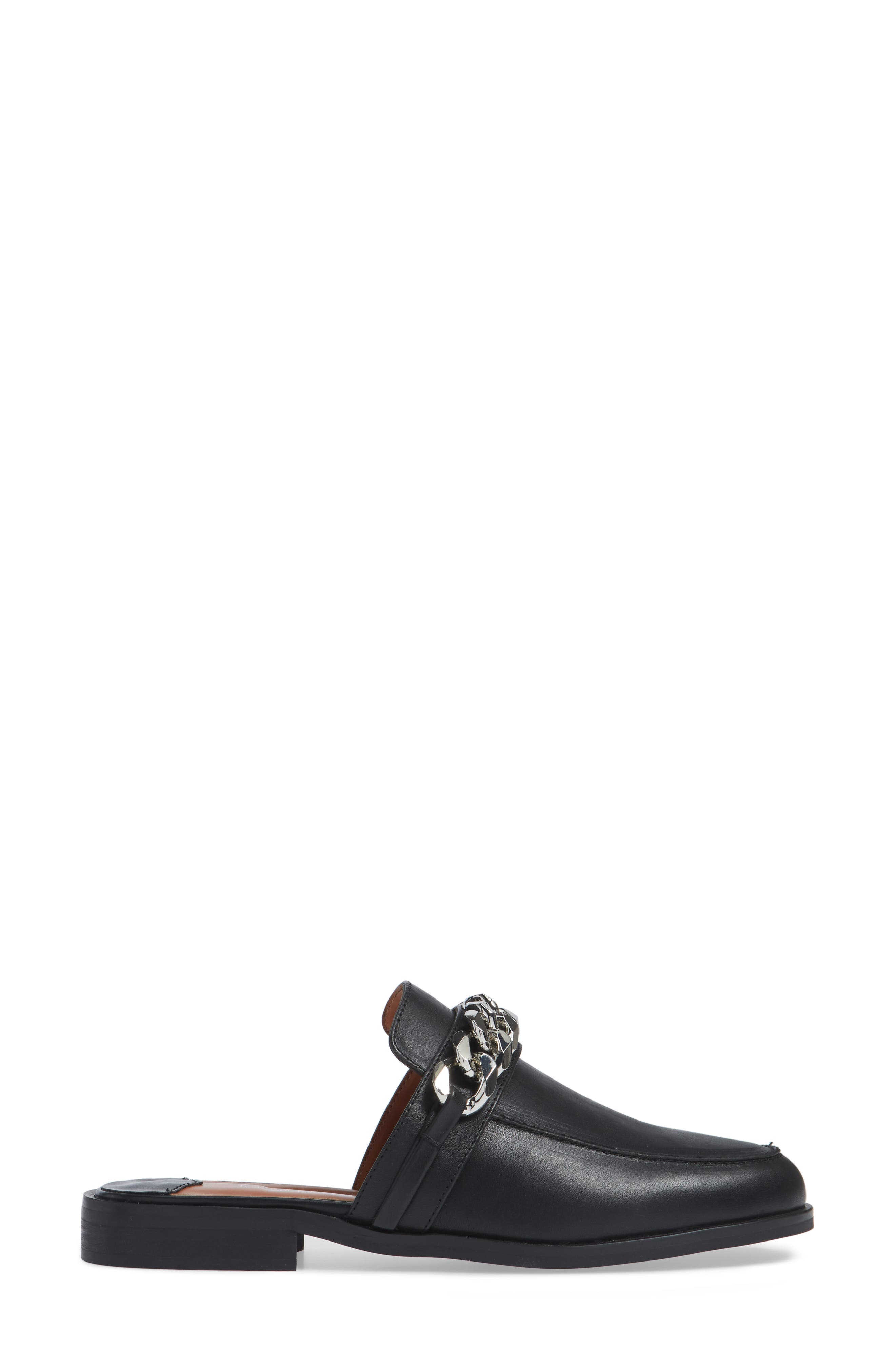 TONY BIANCO,                             Dion Mule,                             Alternate thumbnail 3, color,                             BLACK SMOOTH LEATHER