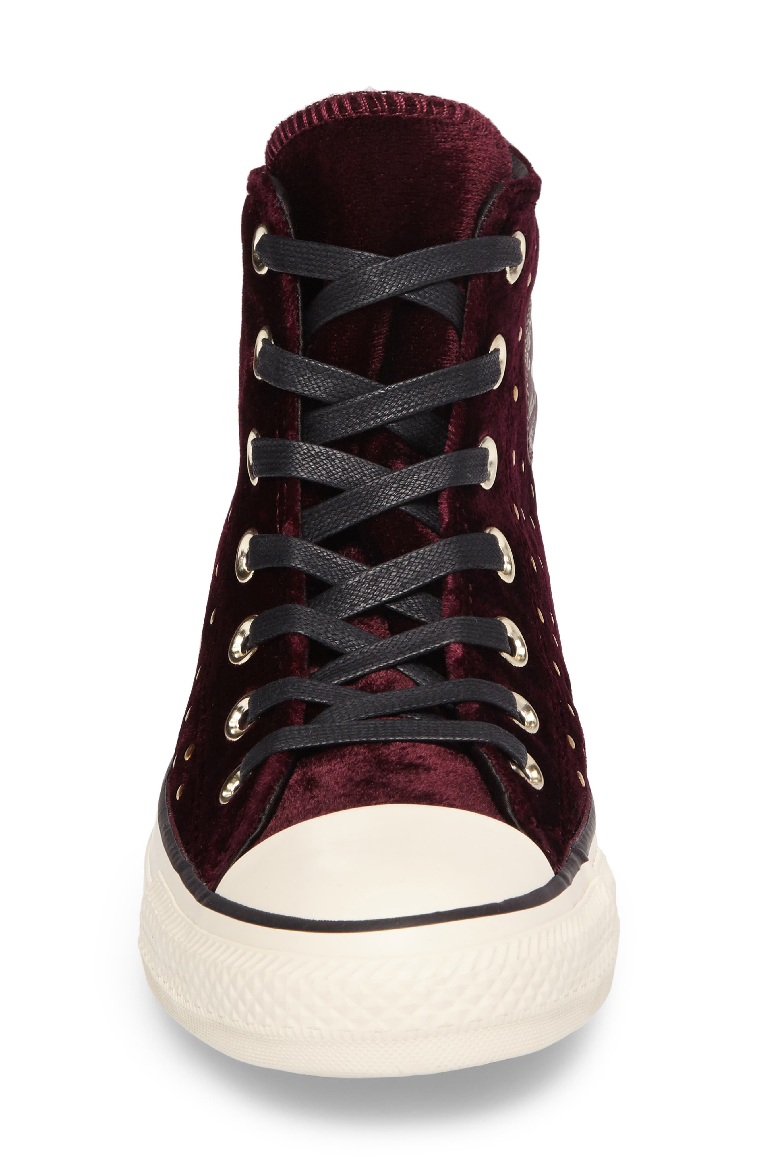 Chuck Taylor<sup>®</sup> All Star<sup>®</sup> Studded High Top Sneakers,                             Alternate thumbnail 12, color,