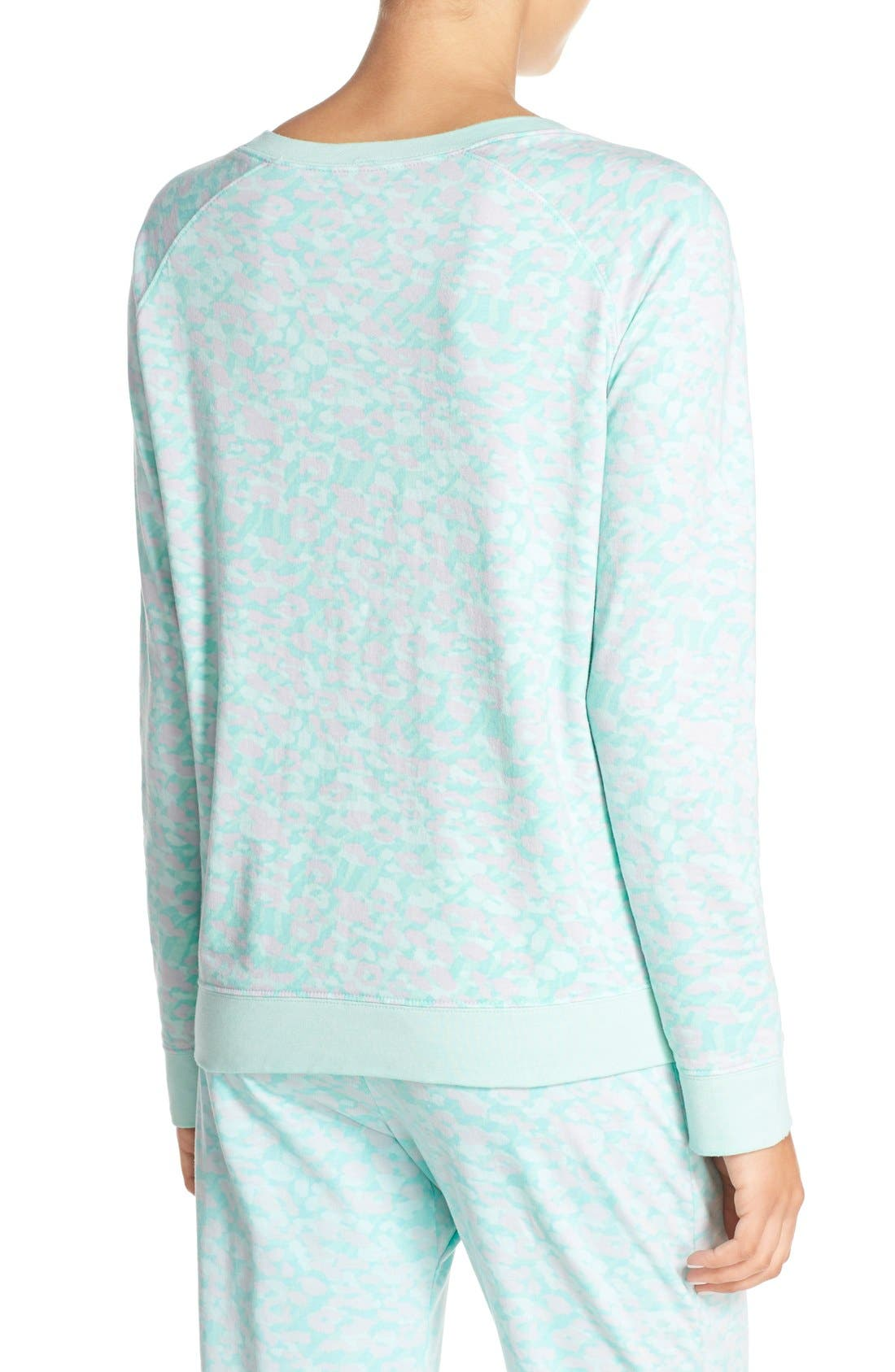 Burnout Lounge Sweatshirt,                             Alternate thumbnail 156, color,