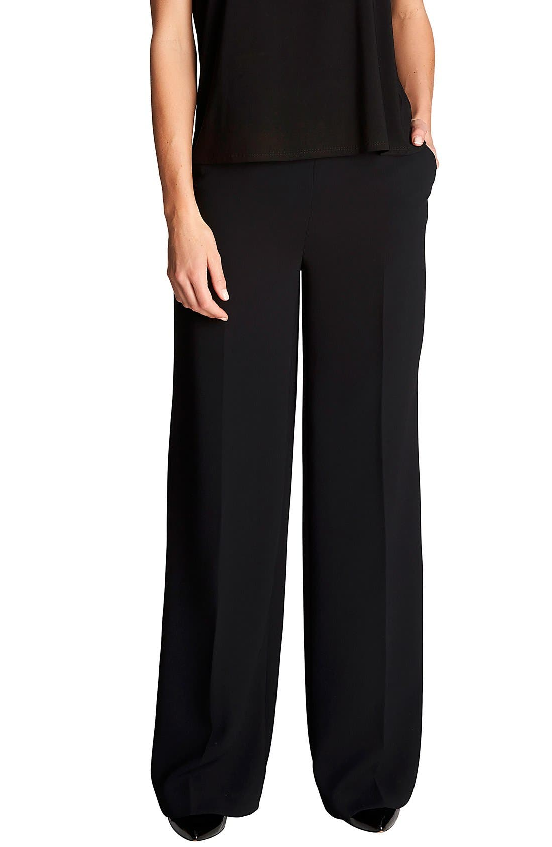 by Cynthia Steffe Wide Leg Pants,                         Main,                         color, 001