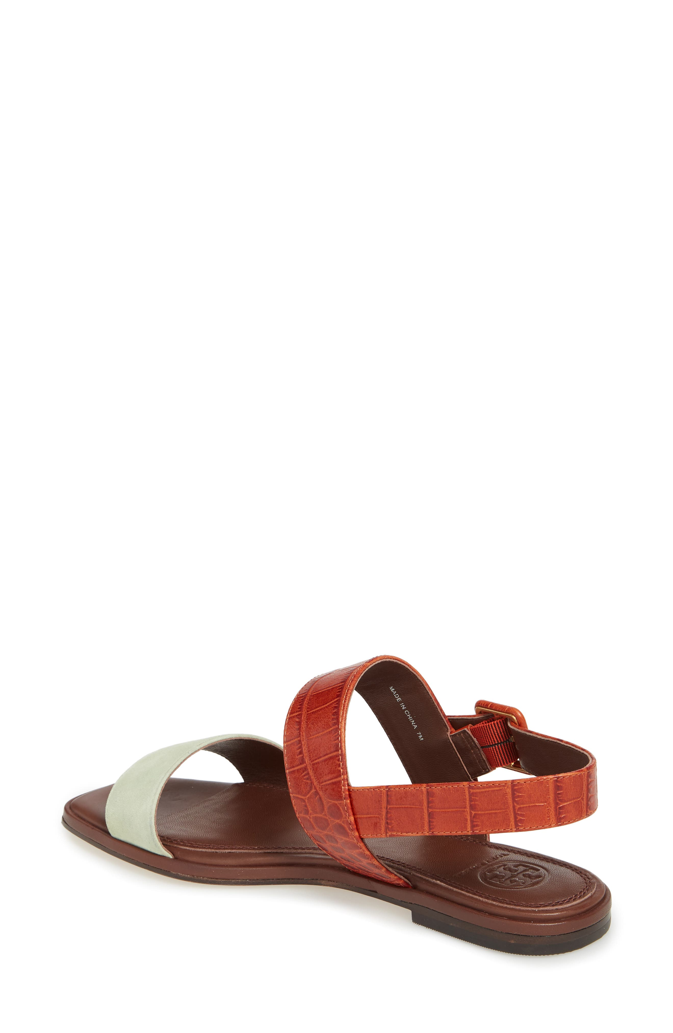 Delaney Double Strap Sandal,                             Alternate thumbnail 12, color,