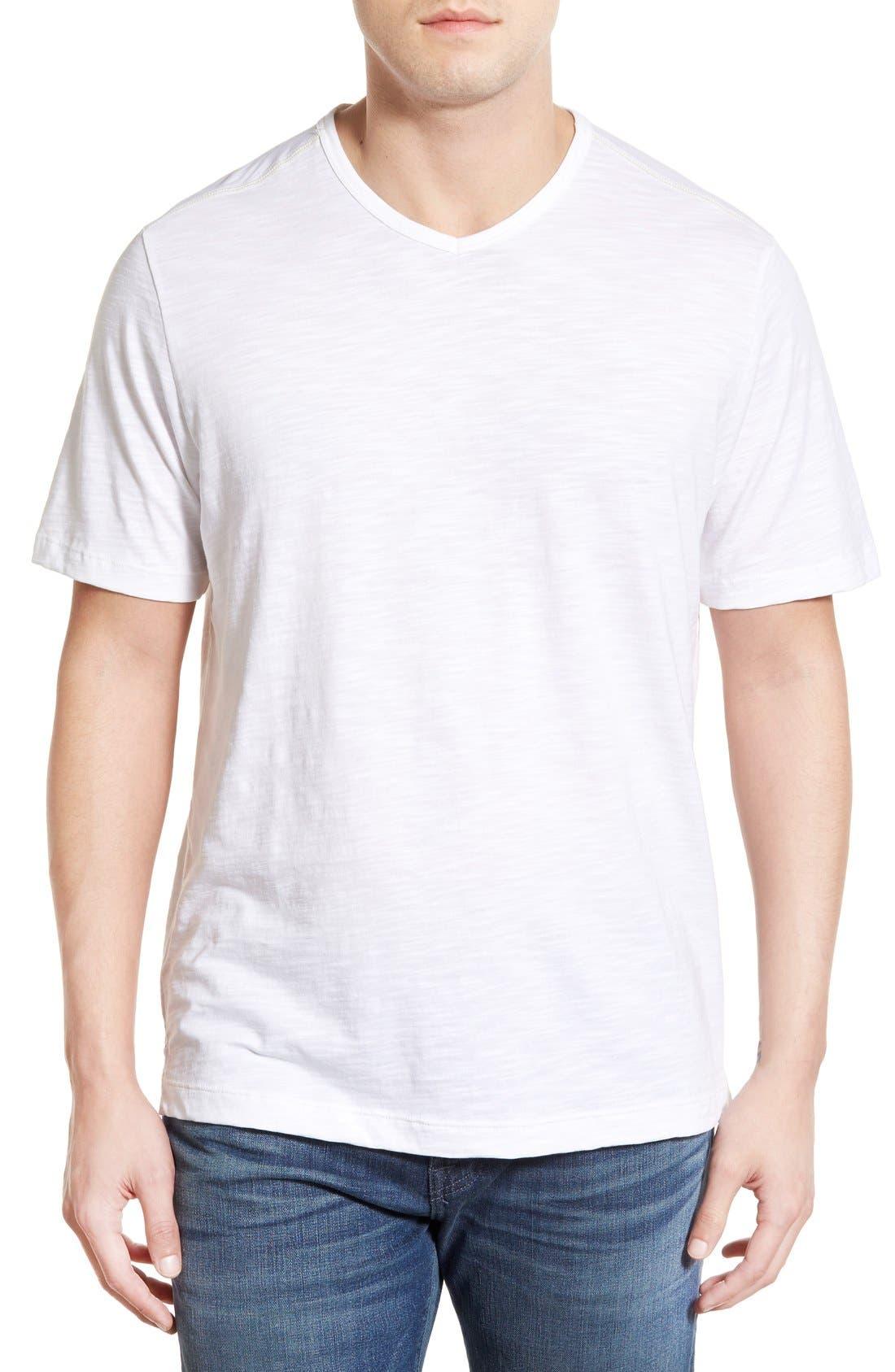 'Portside Player' Pima Cotton T-Shirt,                             Main thumbnail 3, color,