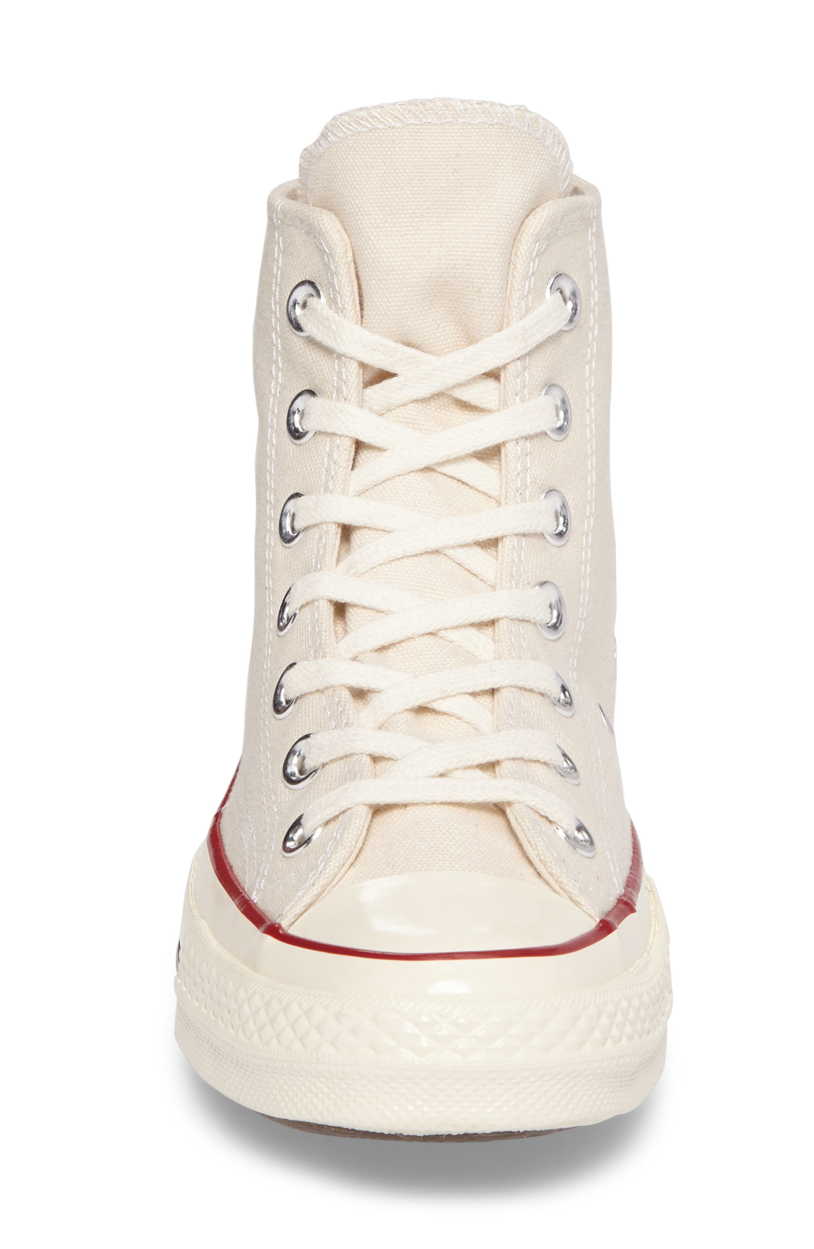 Chuck Taylor<sup>®</sup> All Star<sup>®</sup> '70 High Top Sneaker,                             Alternate thumbnail 4, color,                             PARCHMENT