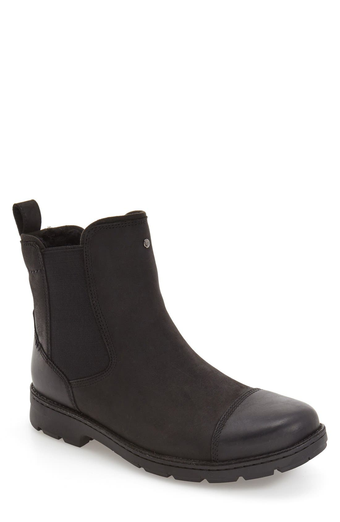 'Runyon' Chelsea Boot, Main, color, 001
