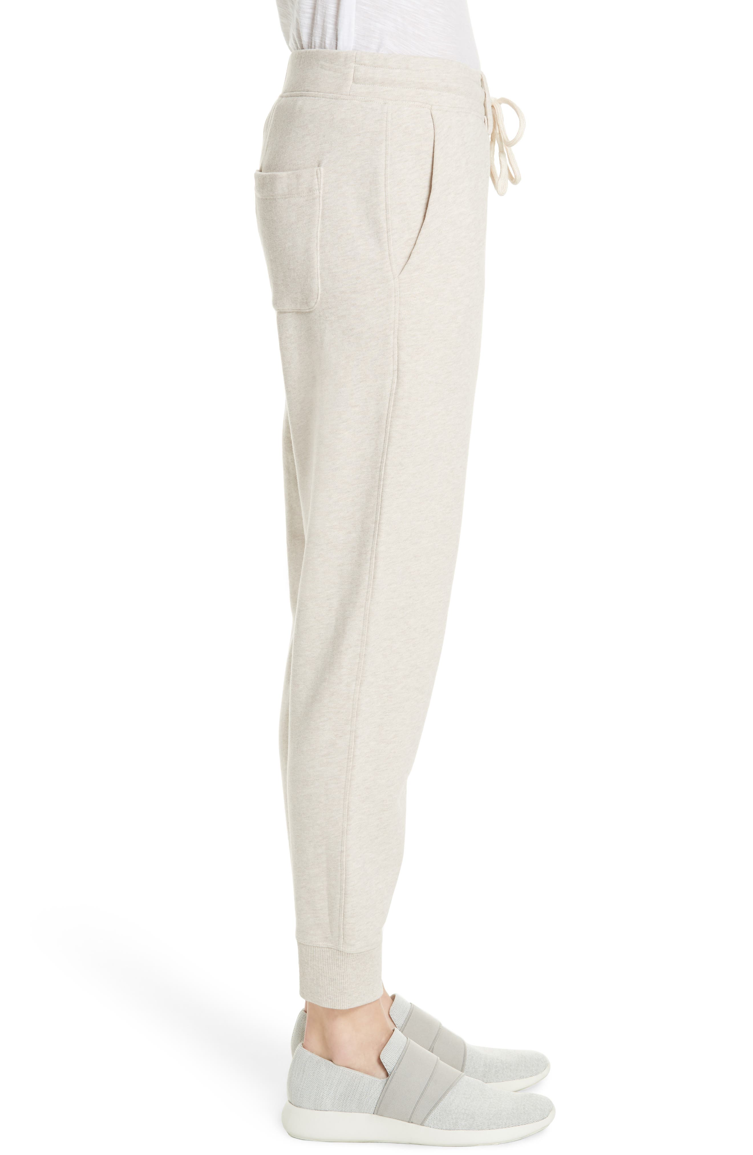 Cotton Drawstring Sweatpants,                             Alternate thumbnail 3, color,