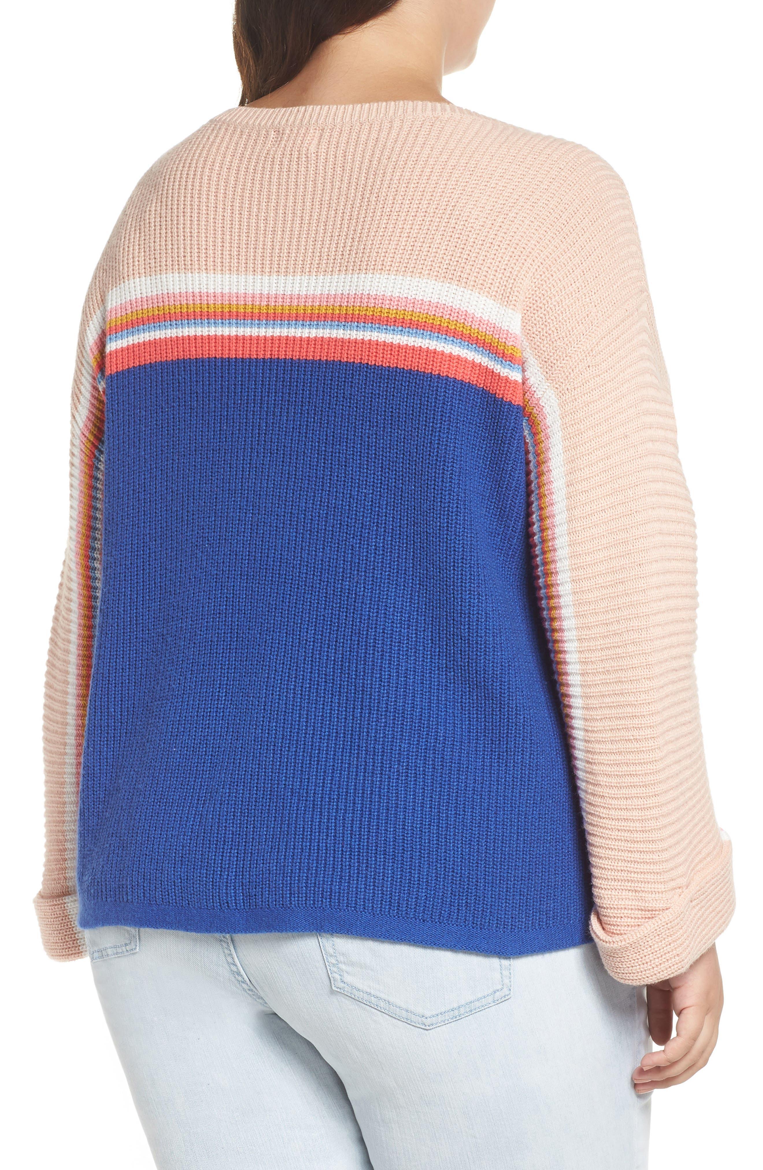 Shaker Stitch Sweater,                             Alternate thumbnail 2, color,                             401
