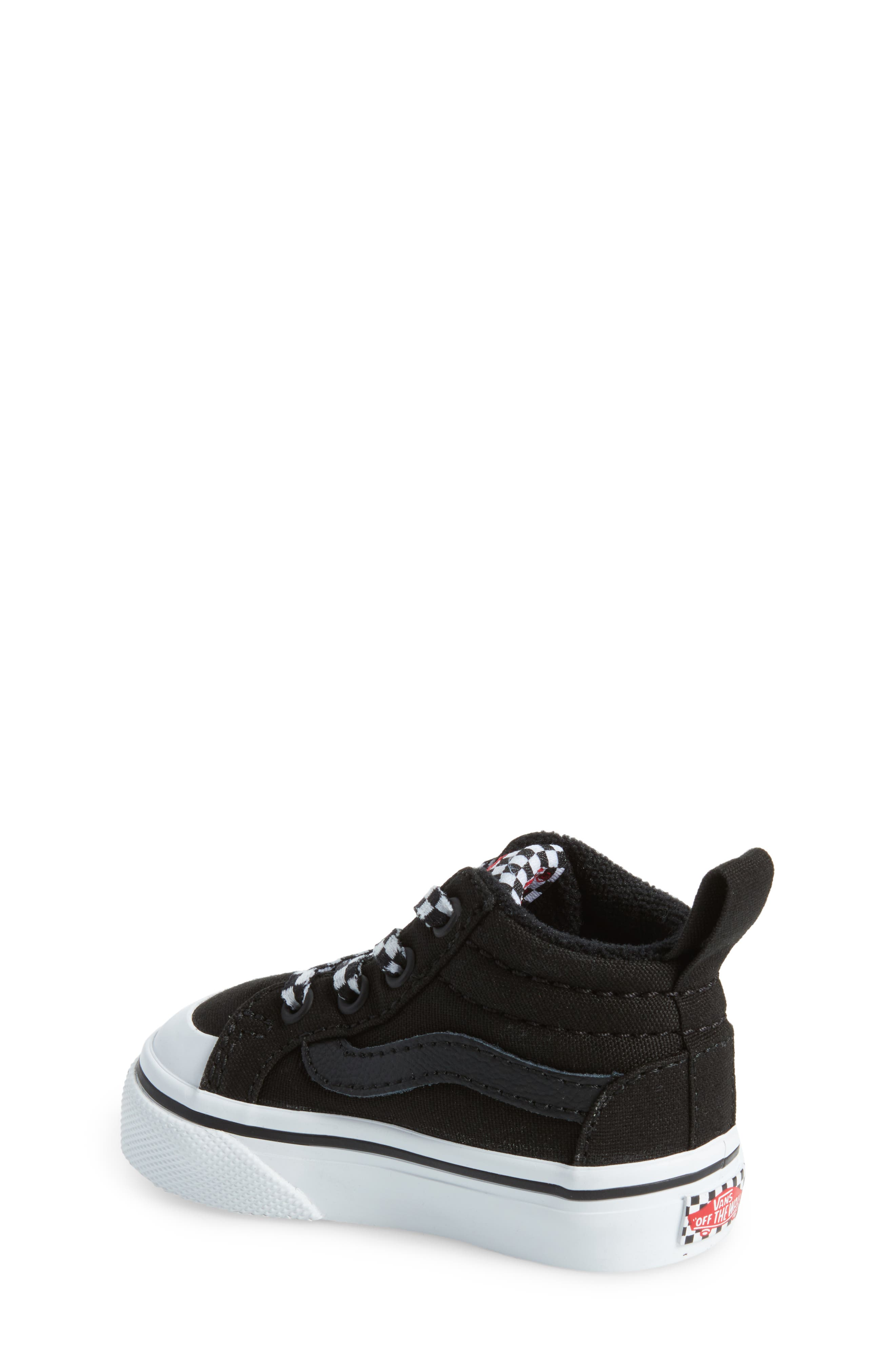 Racer Mid Elastic Lace Sneaker,                             Alternate thumbnail 9, color,
