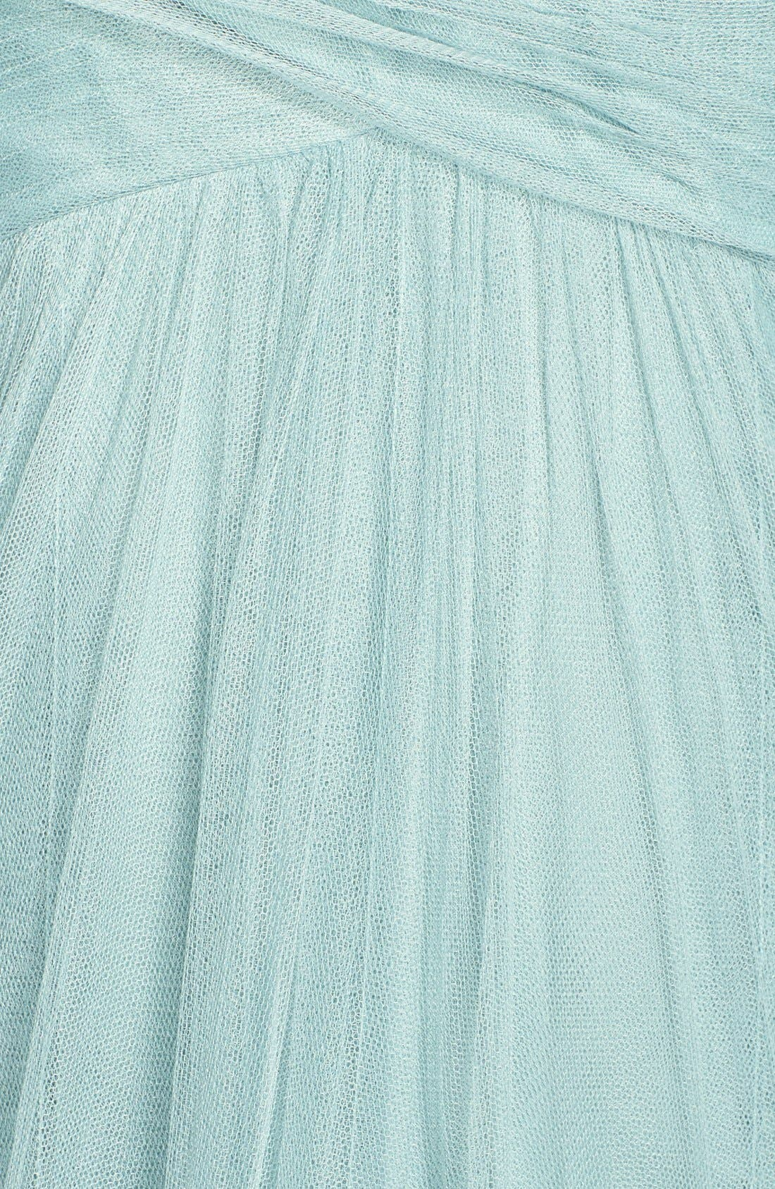 Willow Convertible Tulle Gown,                             Alternate thumbnail 4, color,                             455