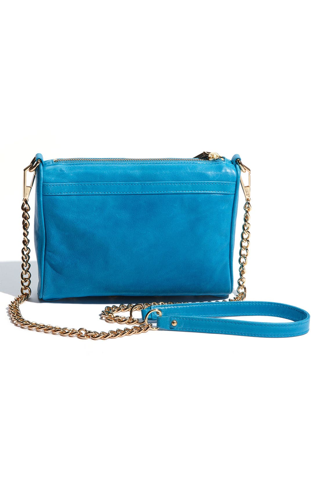 'Mini MAC' Croc Embossed Convertible Crossbody Bag,                             Alternate thumbnail 23, color,