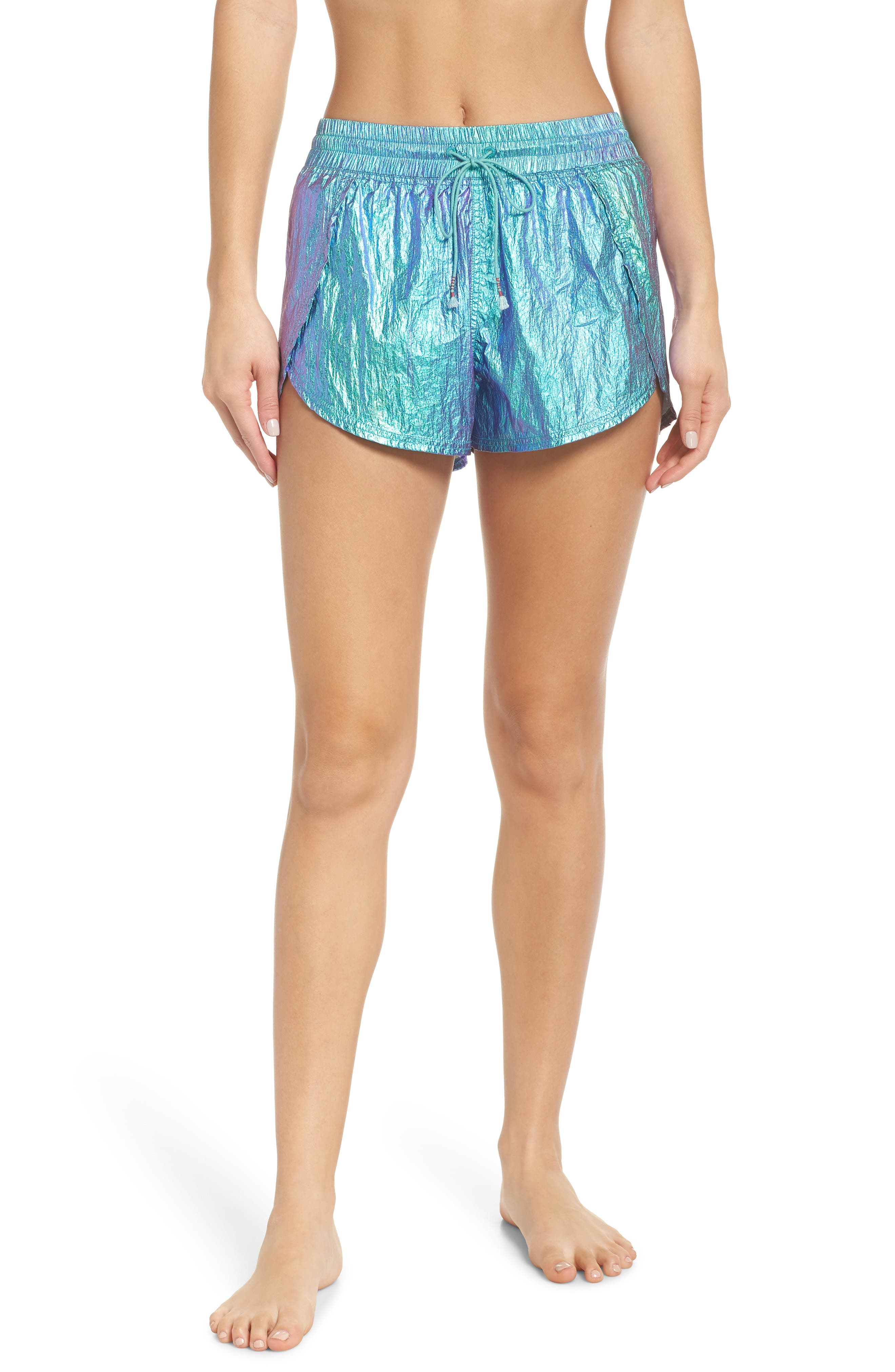 FREE PEOPLE MOVEMENT Free People Fp Movement Windjammer Shorts in Green