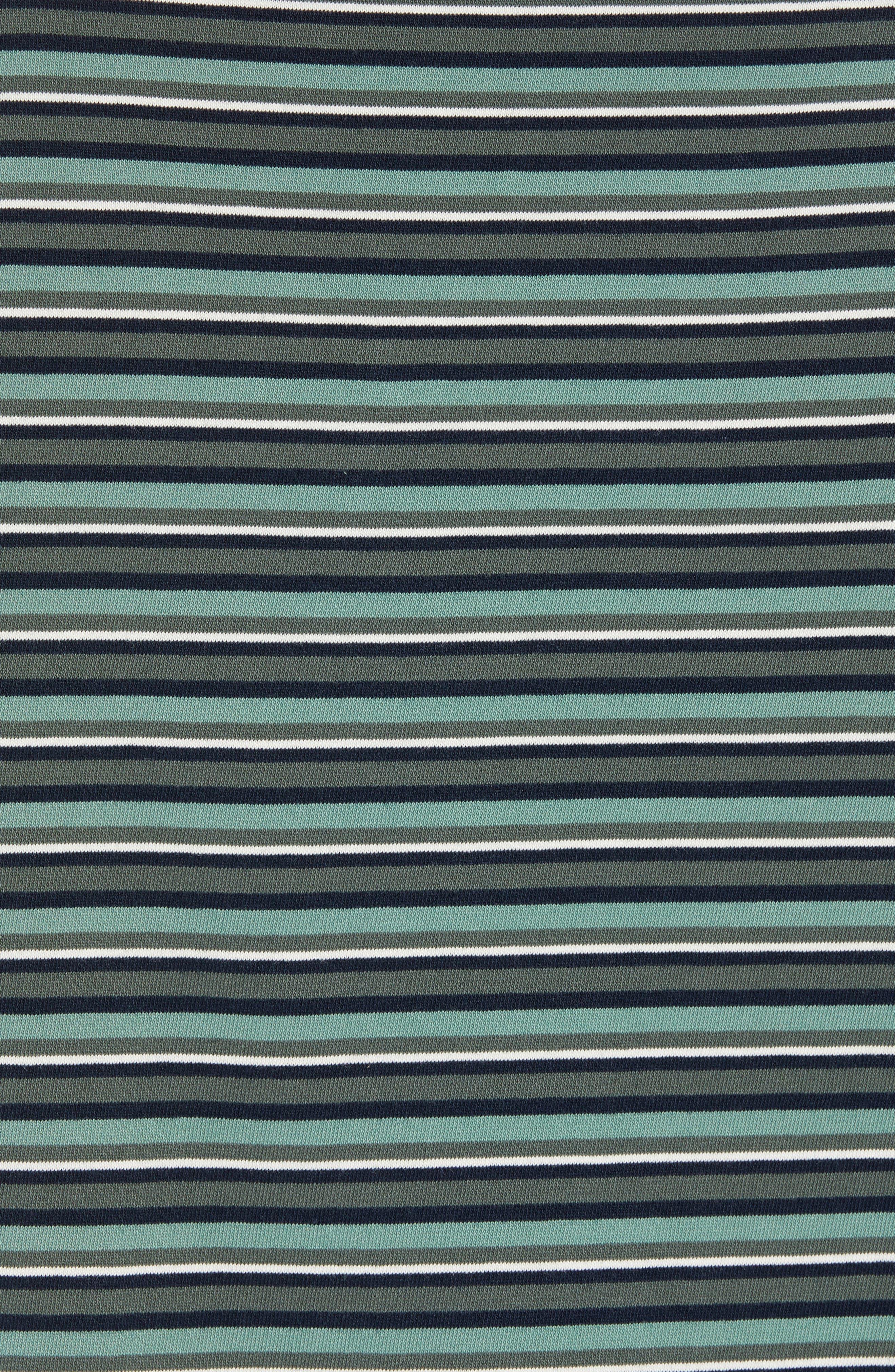 Regular Fit Multistripe Pocket T-Shirt,                             Alternate thumbnail 5, color,                             341